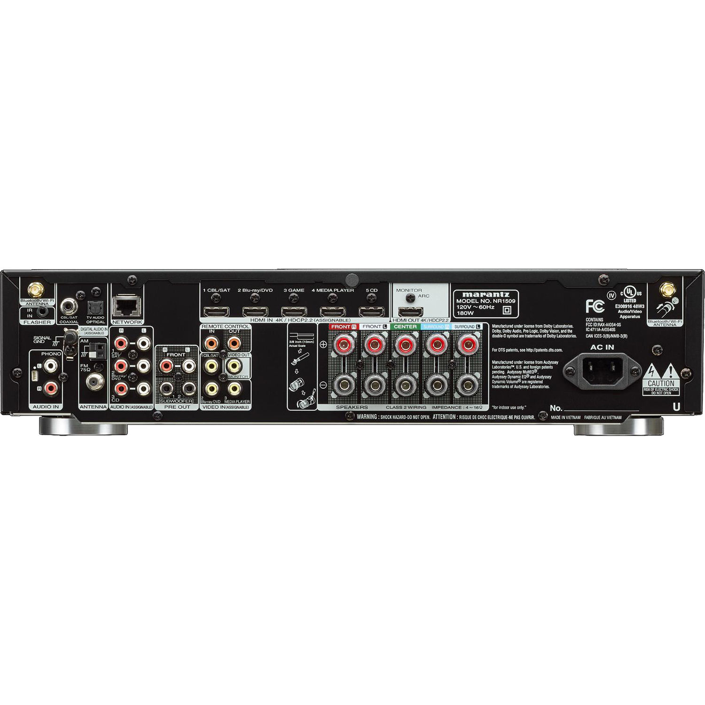Marantz NR1509 5 2-Channel Network A/V Receiver