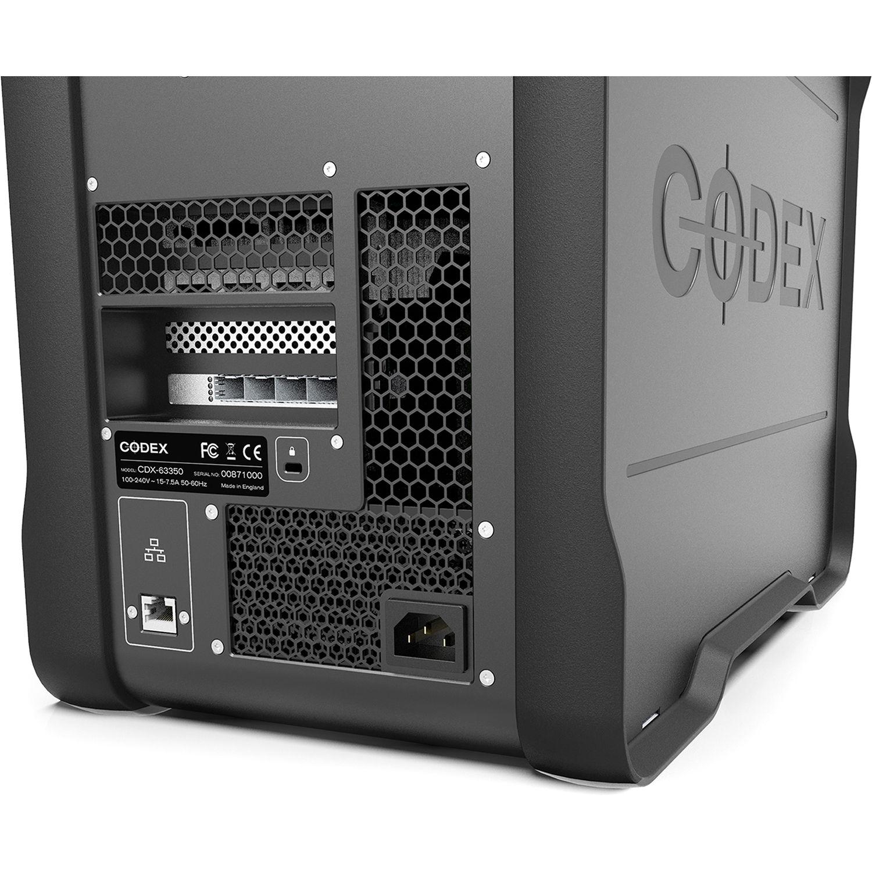 Codex Digital Media Vault 64TB 8-Bay NAS Server (8 x 8TB)