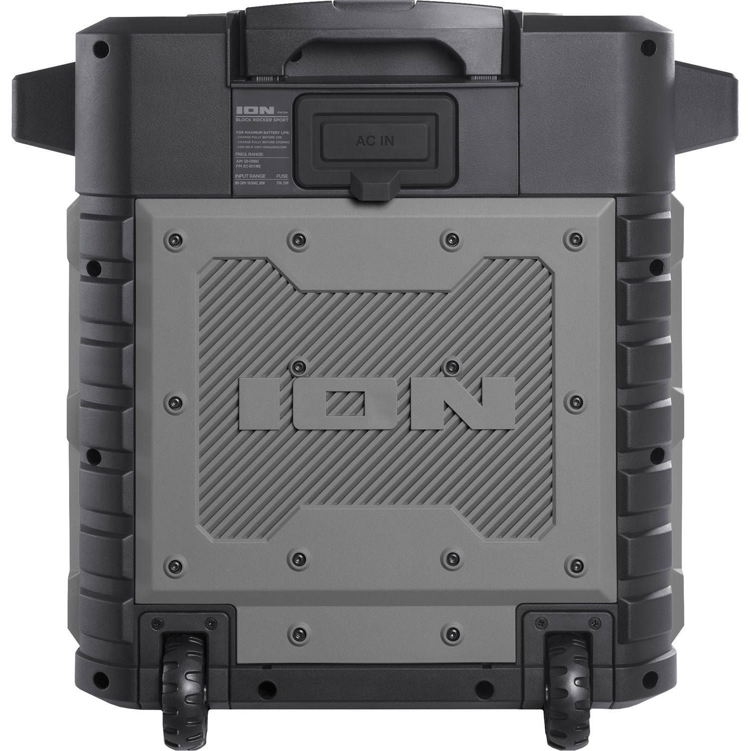 ION Audio Pathfinder Water-Resistant Rechargeable Speaker System (Gray)