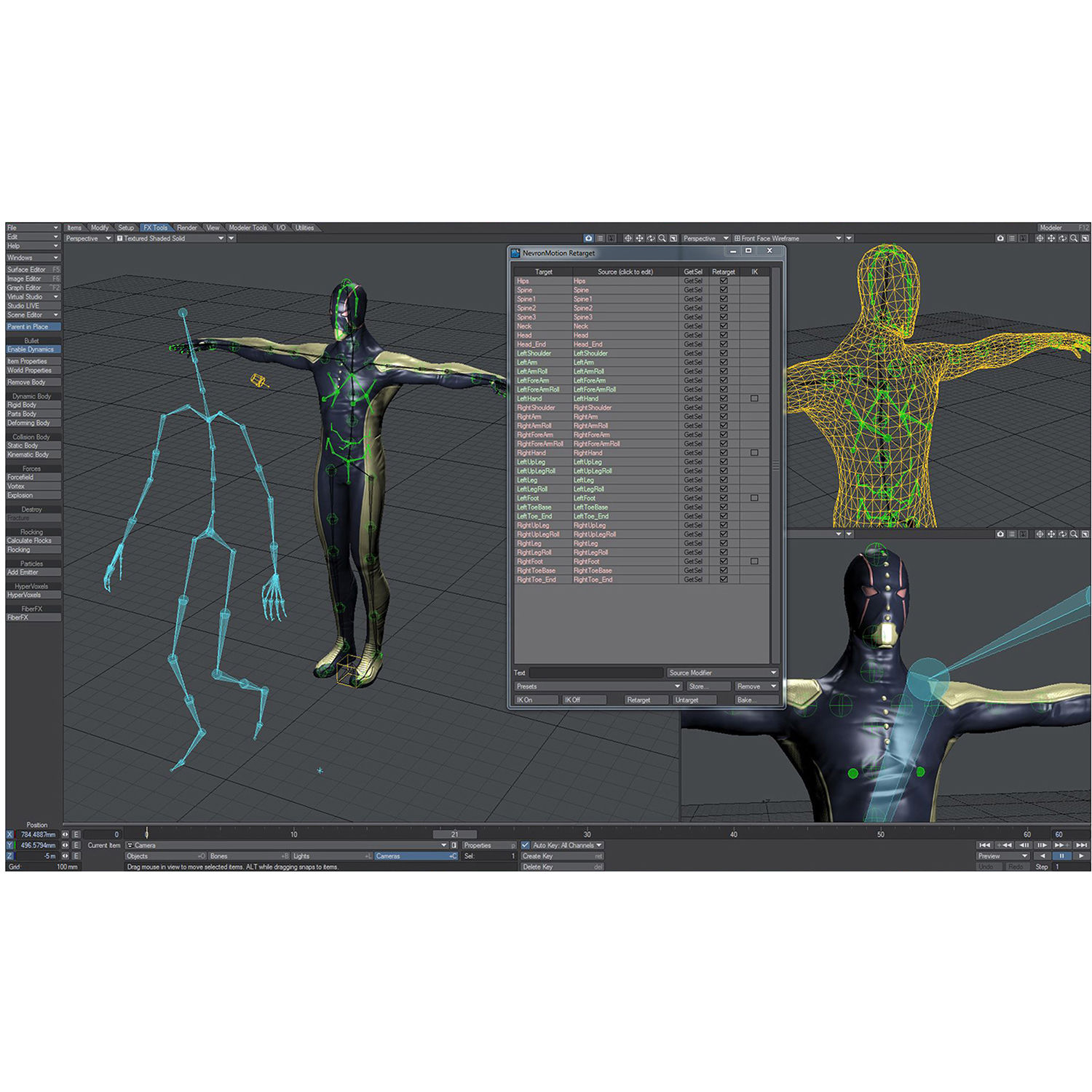 LightWave NevronMotion 1 0 Software with Kinect Support (Standard Edition,  Download)
