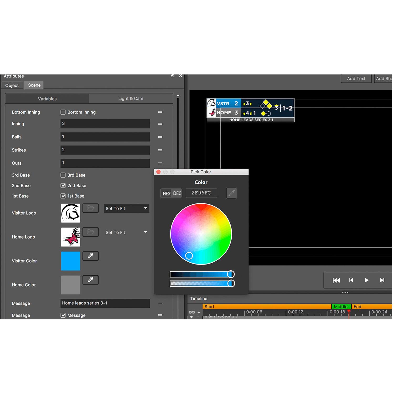 NewBlueFX Titler Live 4 Sport (Download)