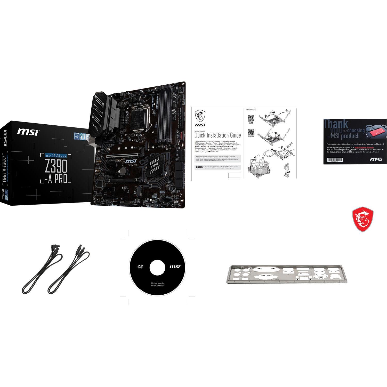 MSI Z390-A PRO LGA 1151 ATX Motherboard