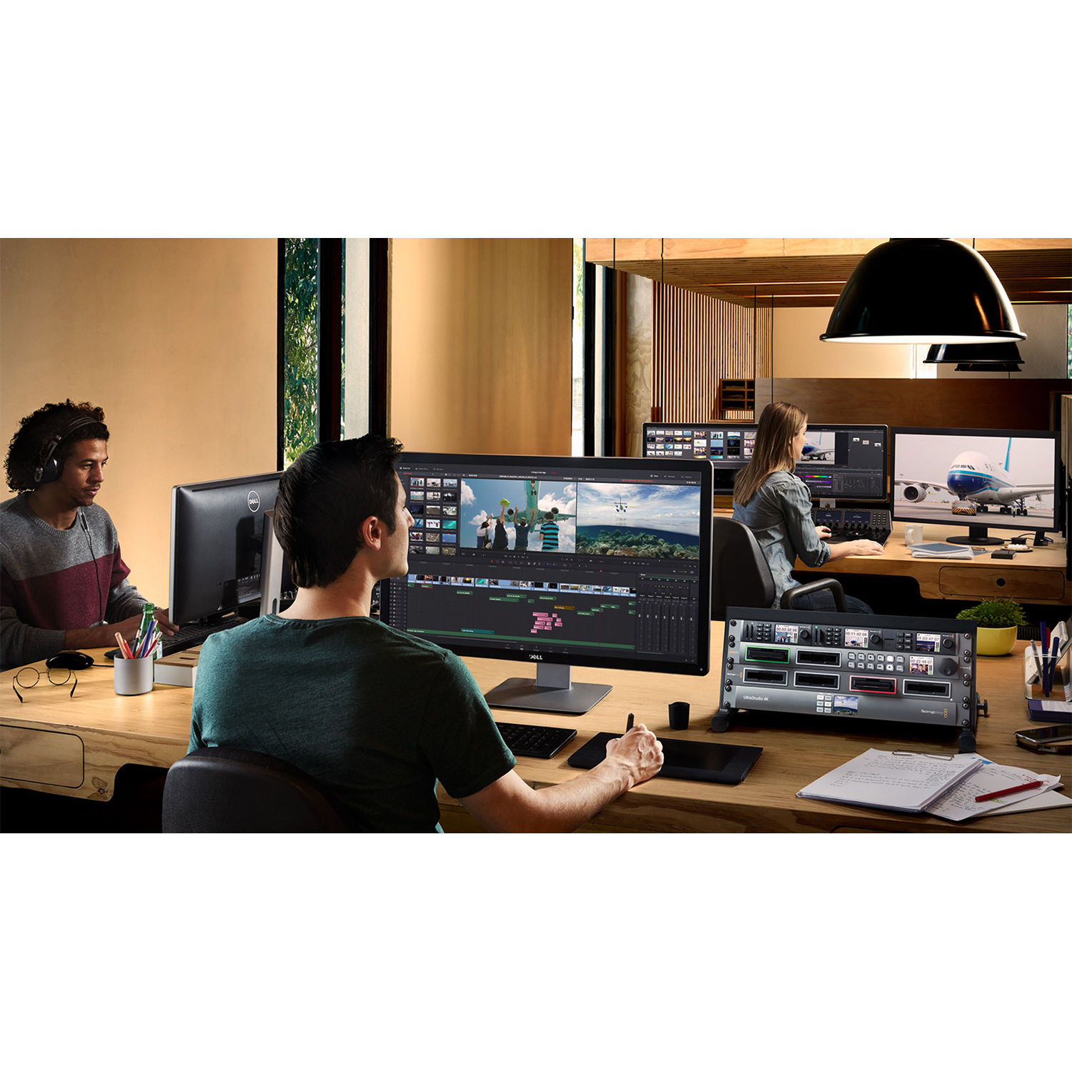 B&H Photo PC Pro Workstation Custom HP Z4 G4 Turnkey with DaVinci Resolve  15 Studio