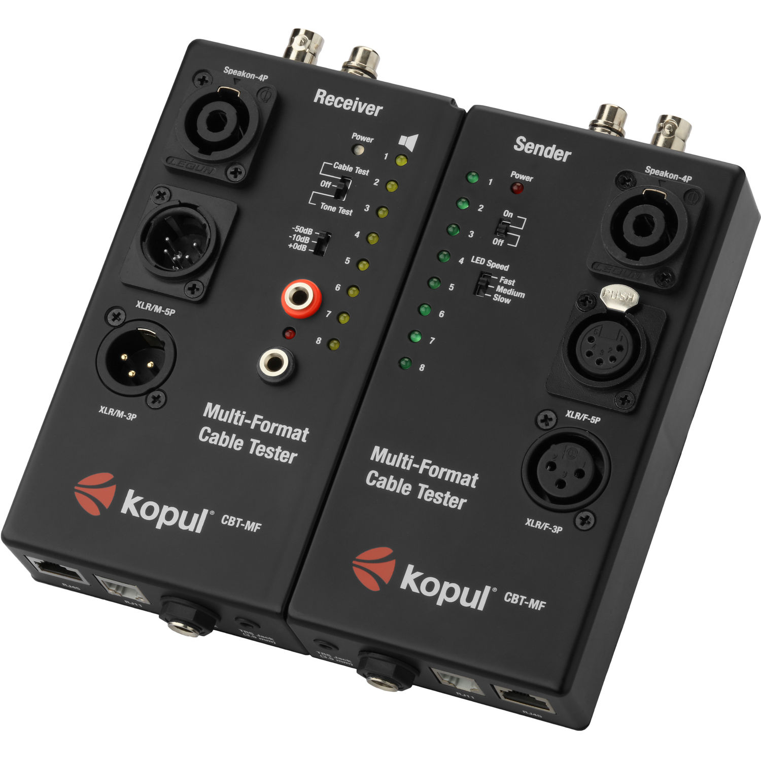 Kopul CBT-MF Multi-Function Cable Tester with Dual Chassis