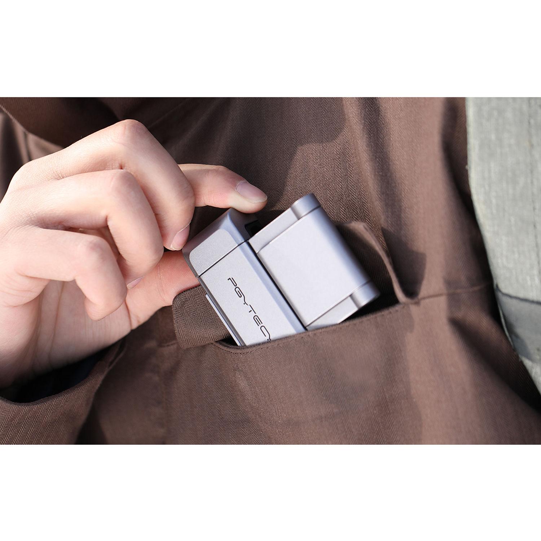Hensych pour OSMO Pocket//OSMO Pocket 2 Joystick Physique Raffermir T/él/éphone Portable Ventouse Bascule /Éloign/é Bouton Pouce B/âton Sensible Contr/ôle /Élastique Bouton Portable Cardan Accessoires