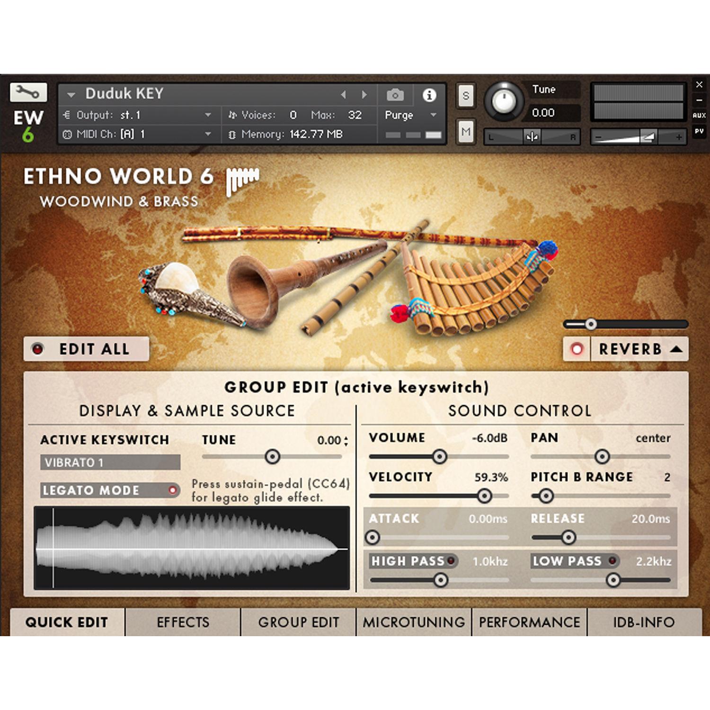 Best Service Ethno World 6 Instruments - Virtual Instrument (Download)