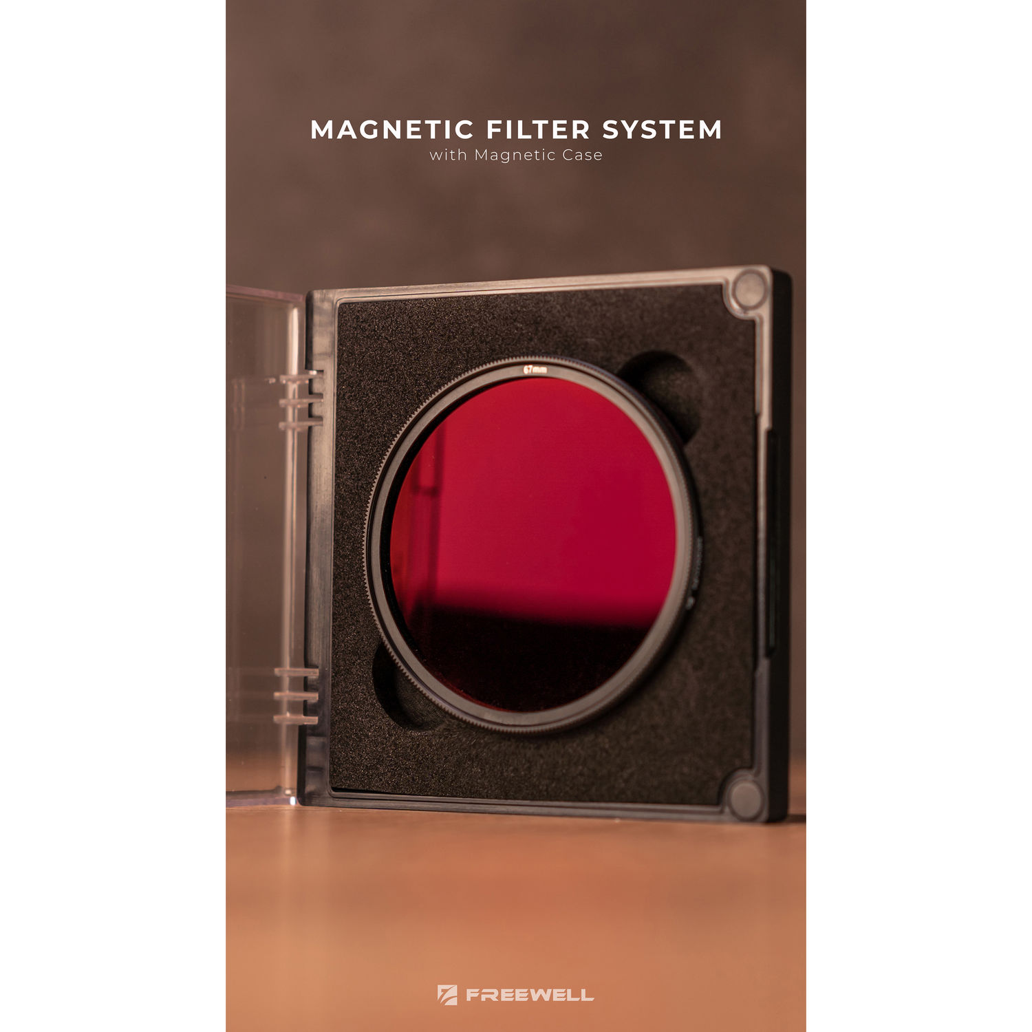 Freewell Magnetic Quick Swap System 67mm Neutral Density ND1000 10 f-Stops Camera Filter