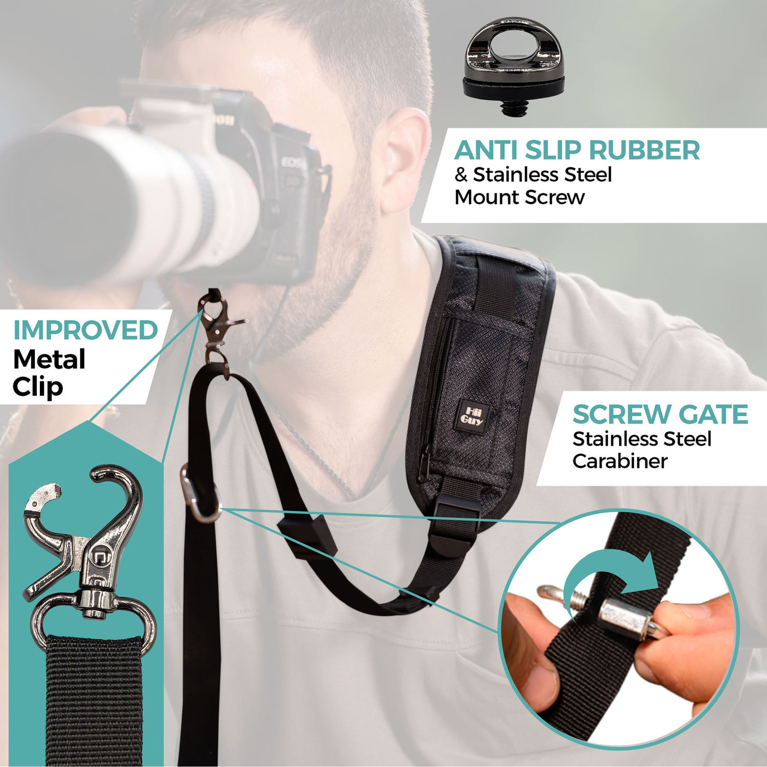 Light Weight and Well Padded Camera Strap Galaxy Camera Strap Code 00156 Cosmos with Planet Camera Strap Dark Purple DSLR//SLR Camera Strap Durable