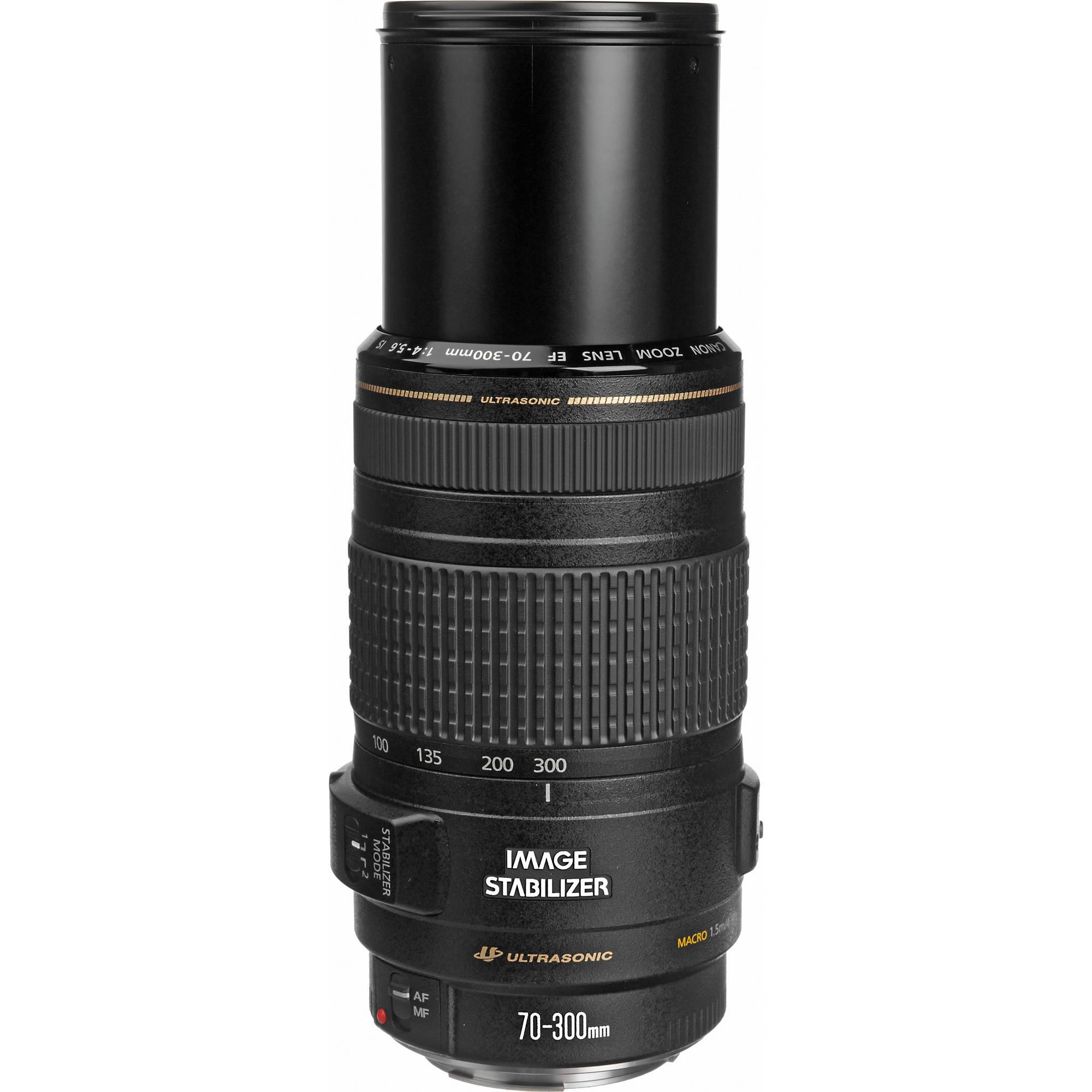 Canon EF 70-300mm f/4-5 6 IS USM Lens