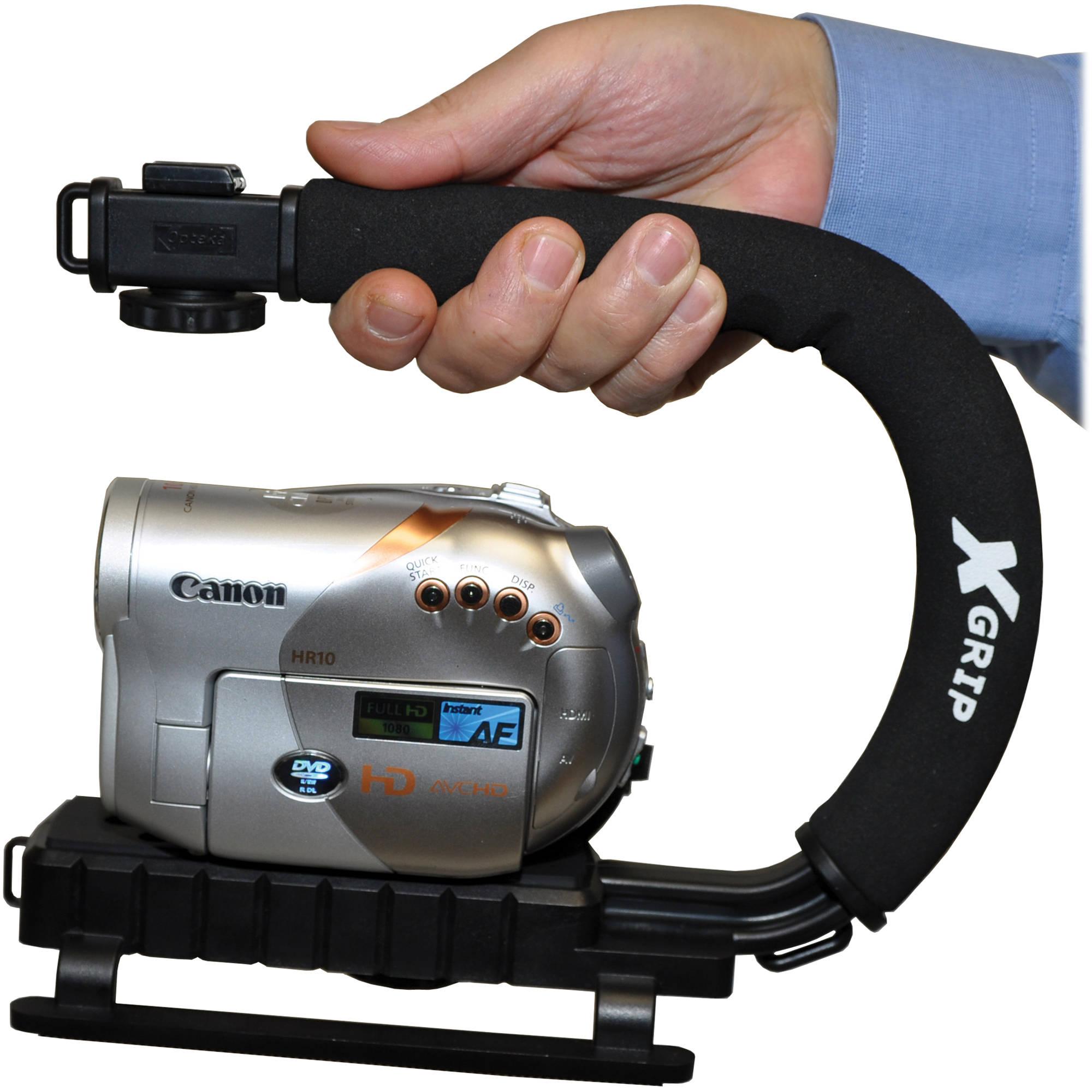 Pro Video Stabilizing Handle Grip for Casio Exilim EX-FH100 Vertical Shoe Mount Stabilizer Handle