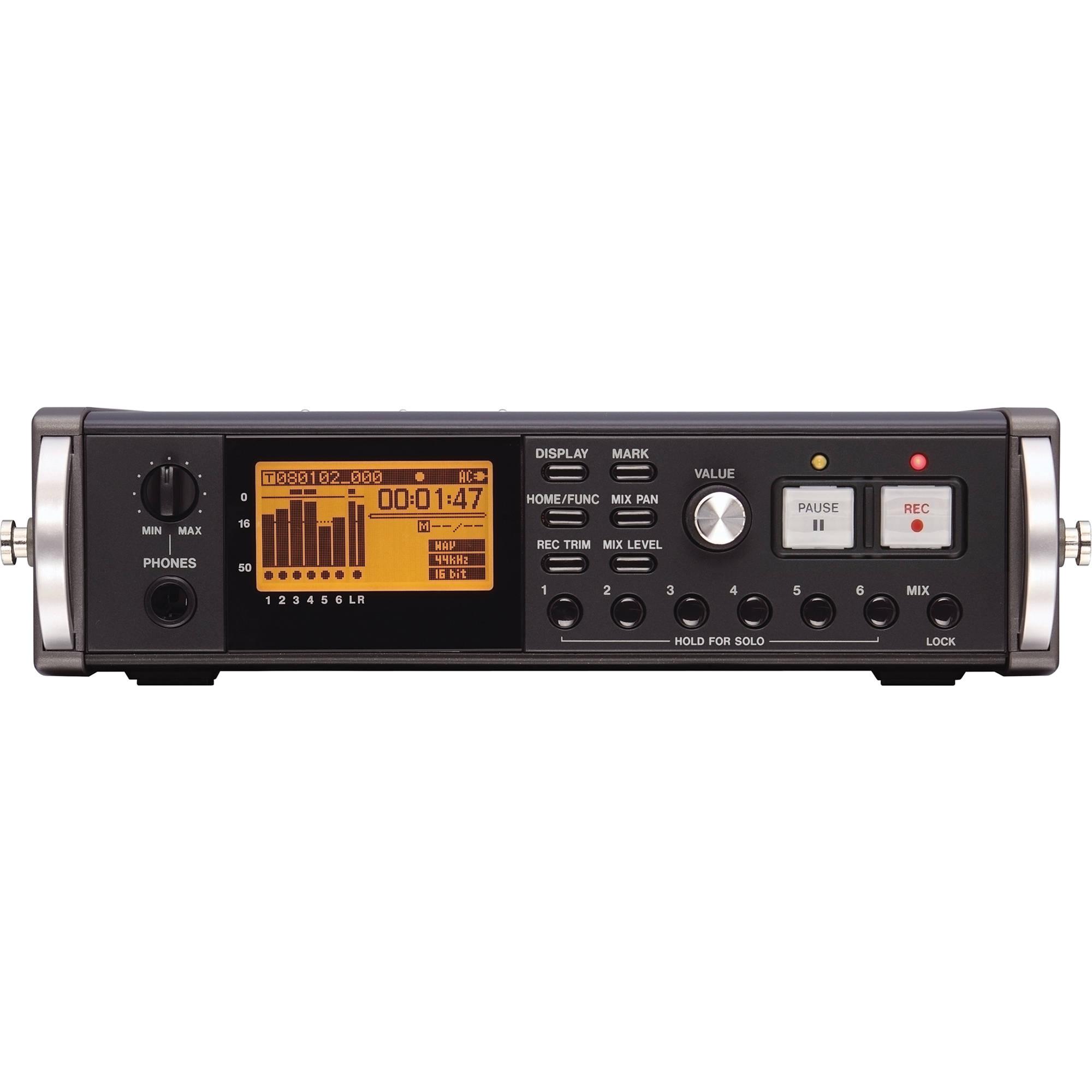 Tascam DR-680MKII 8-Track Digital Field Audio Recorder