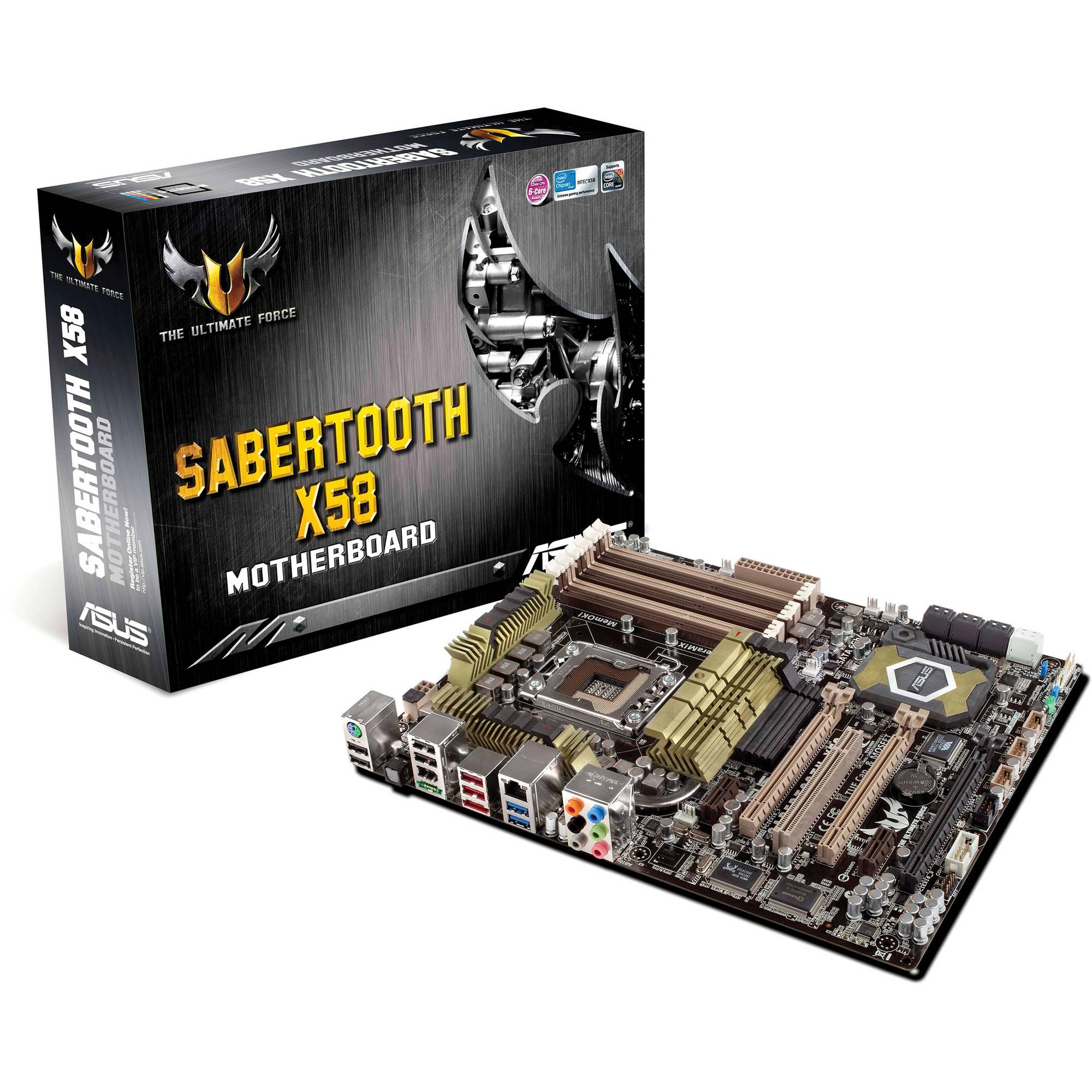 ASUS SABERTOOTH X58 Motherboard