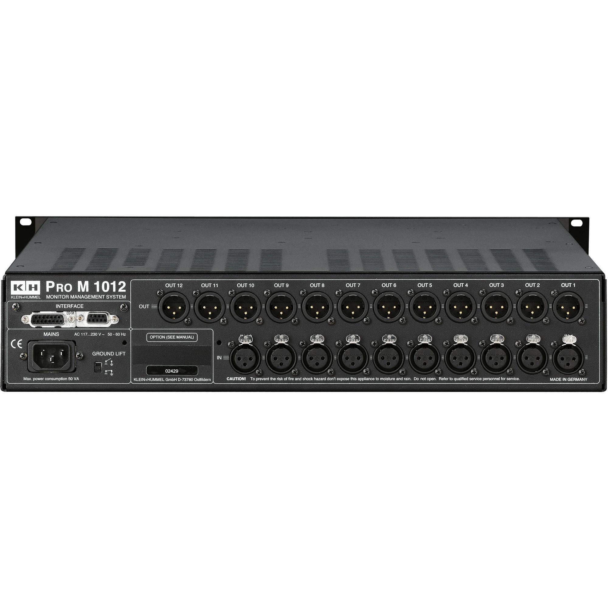 Neumann Pro M 1012 Monitor Management System