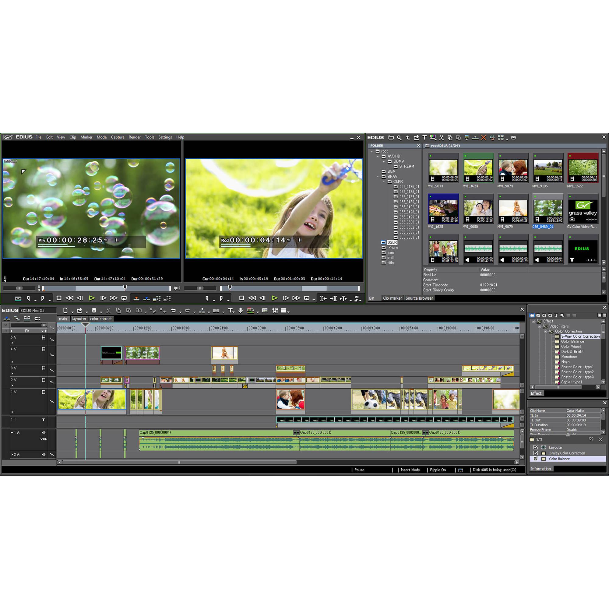 Grass Valley EDIUS Neo 3 5 - Upgrade (Download)