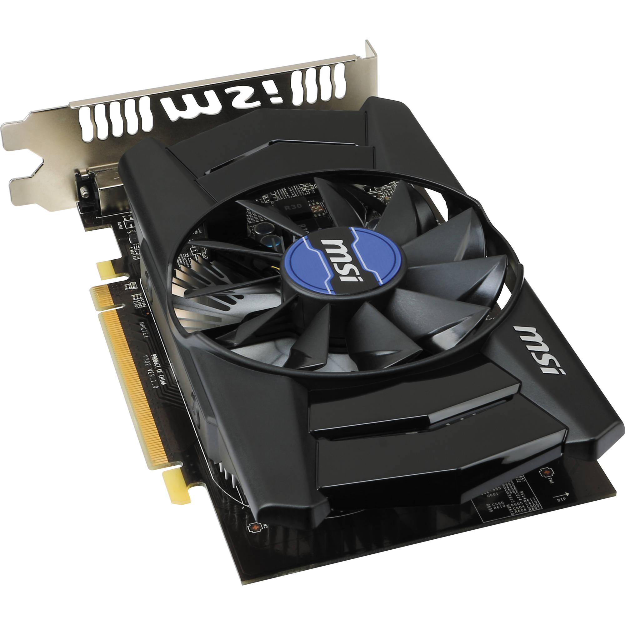 MSI Radeon R7 250 Graphics Card (2GB DDR3)