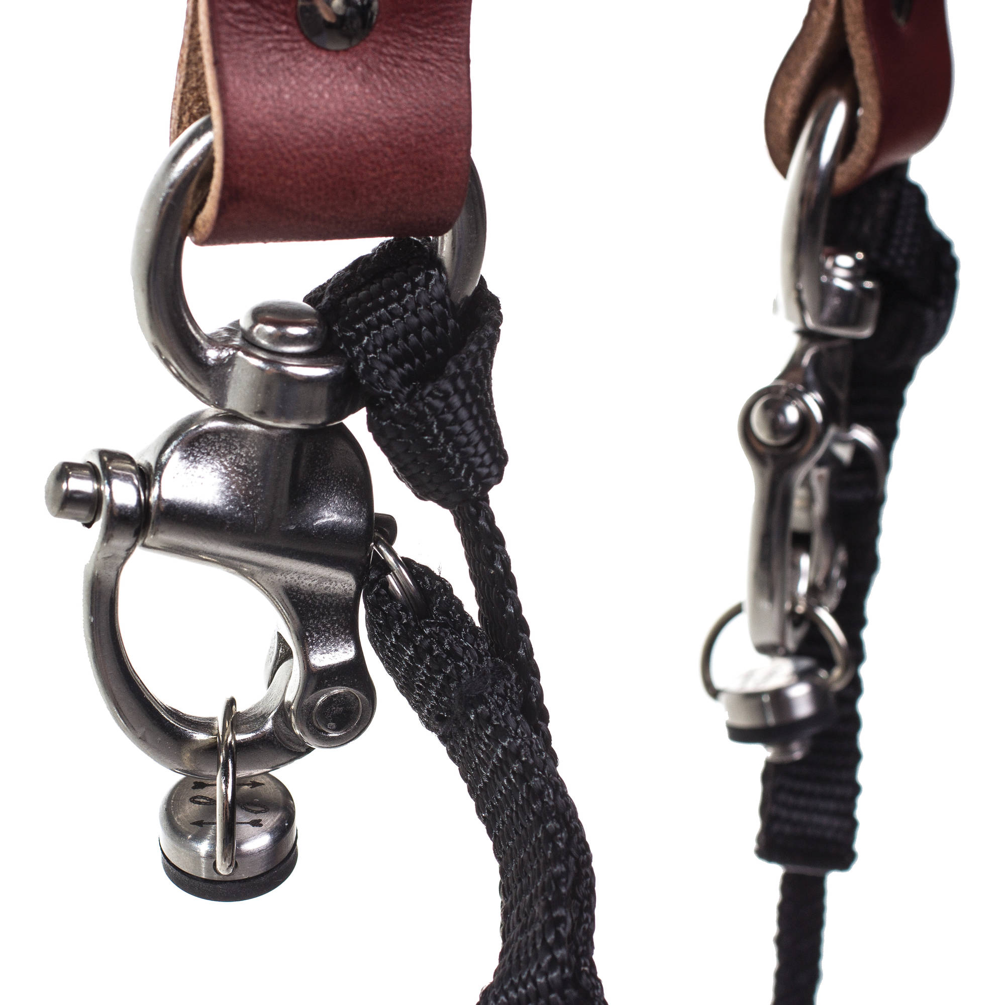 HoldFast Gear Money Maker Two-Camera Harness with Silver Hardware (English  Bridle, Chestnut, Small)