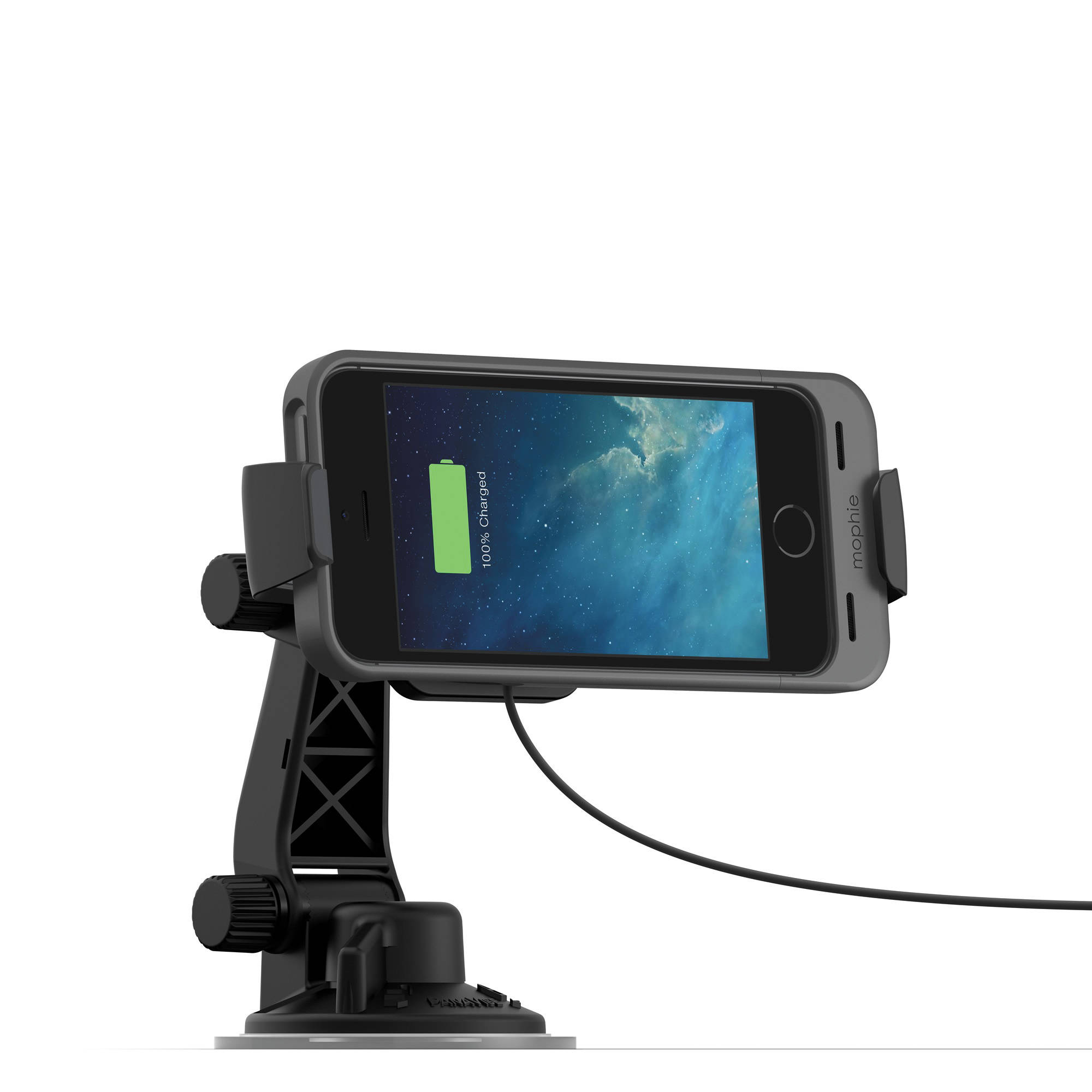 premium selection 76e4a 1fc5e mophie juice pack Car Dock for mophie Cases for iPhone 5s/5 (Black)