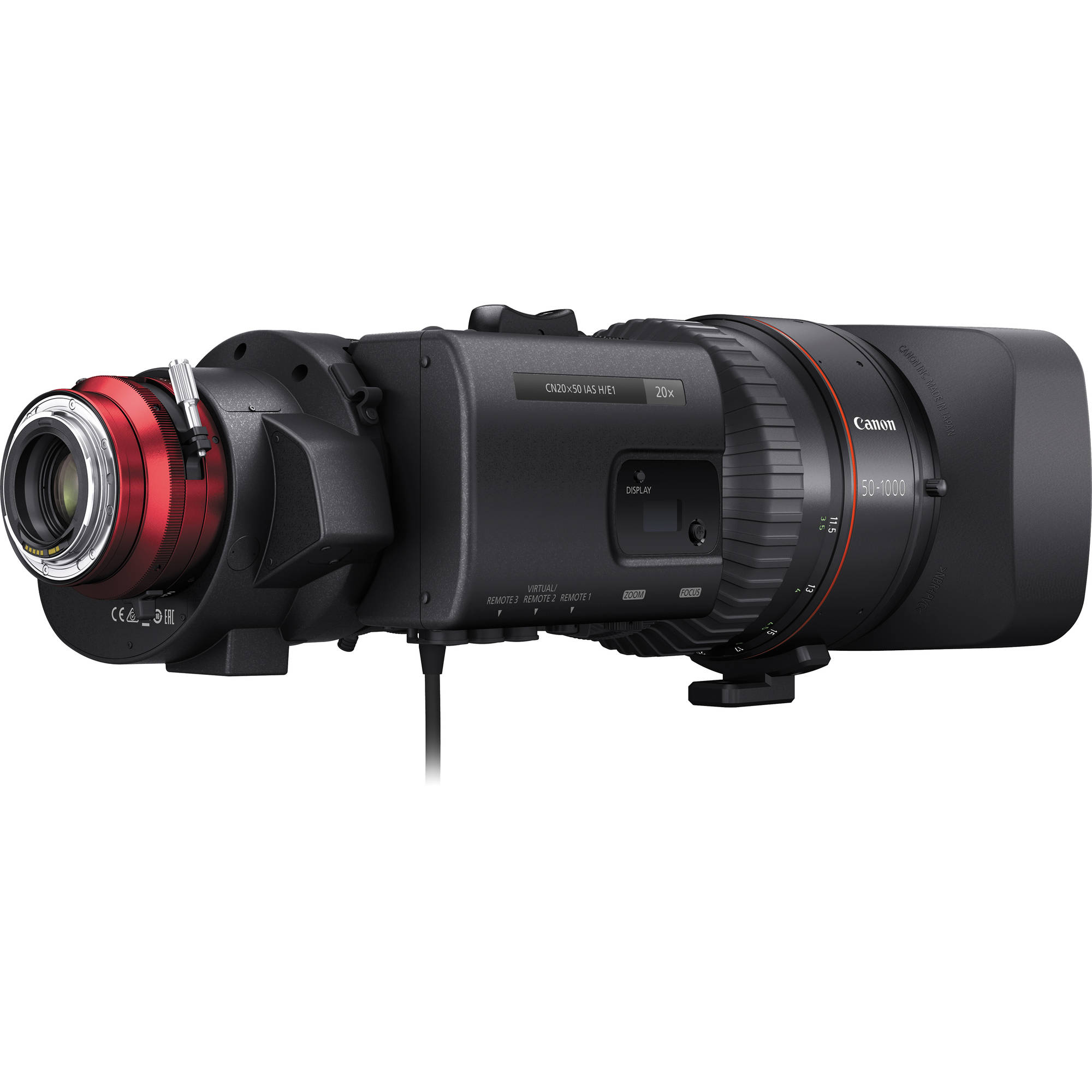 Canon CINE-SERVO 50-1000mm T5 0-8 9 with EF Mount