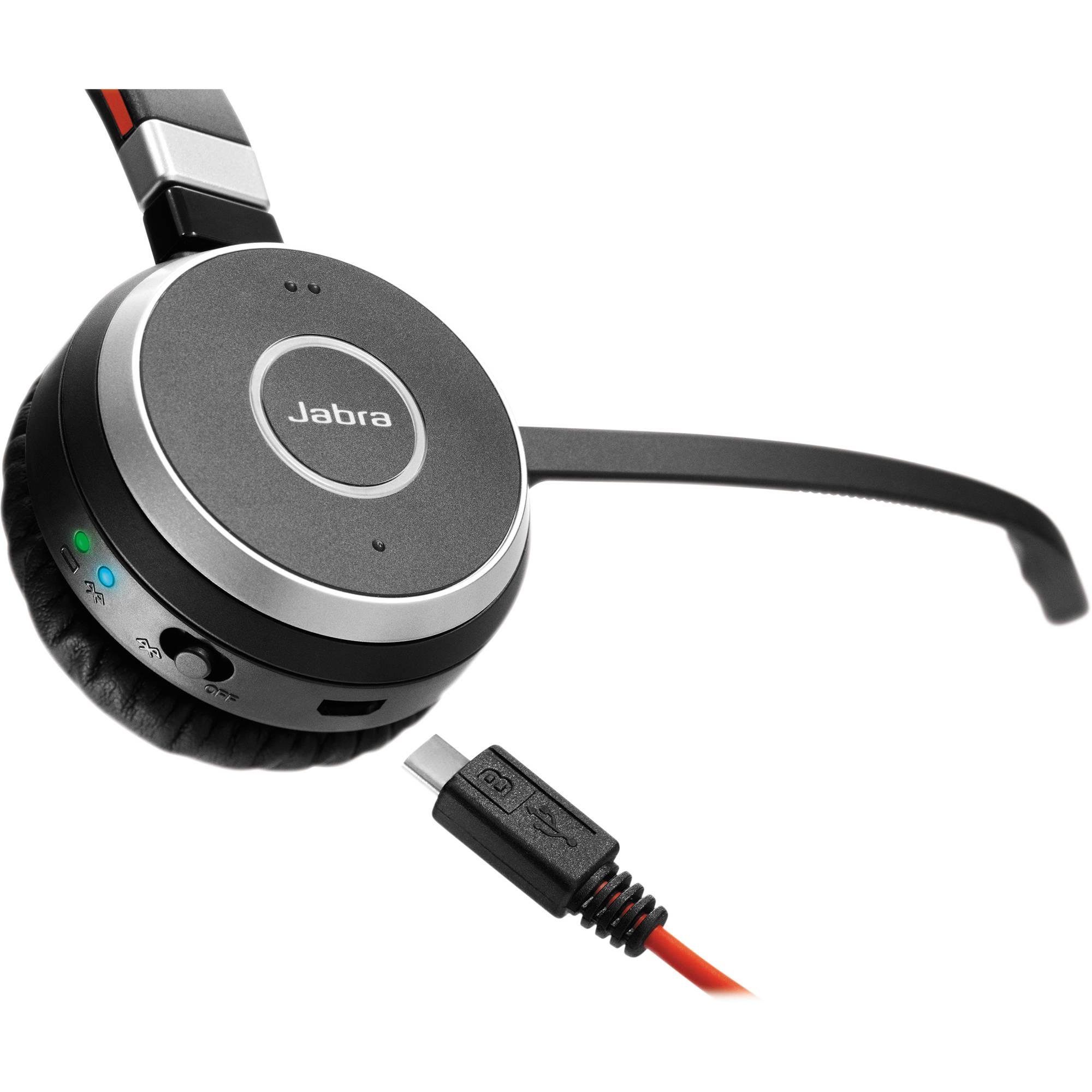 Jabra Evolve 65 Ms Stereo Bluetooth Headset 6599 823 309 B H