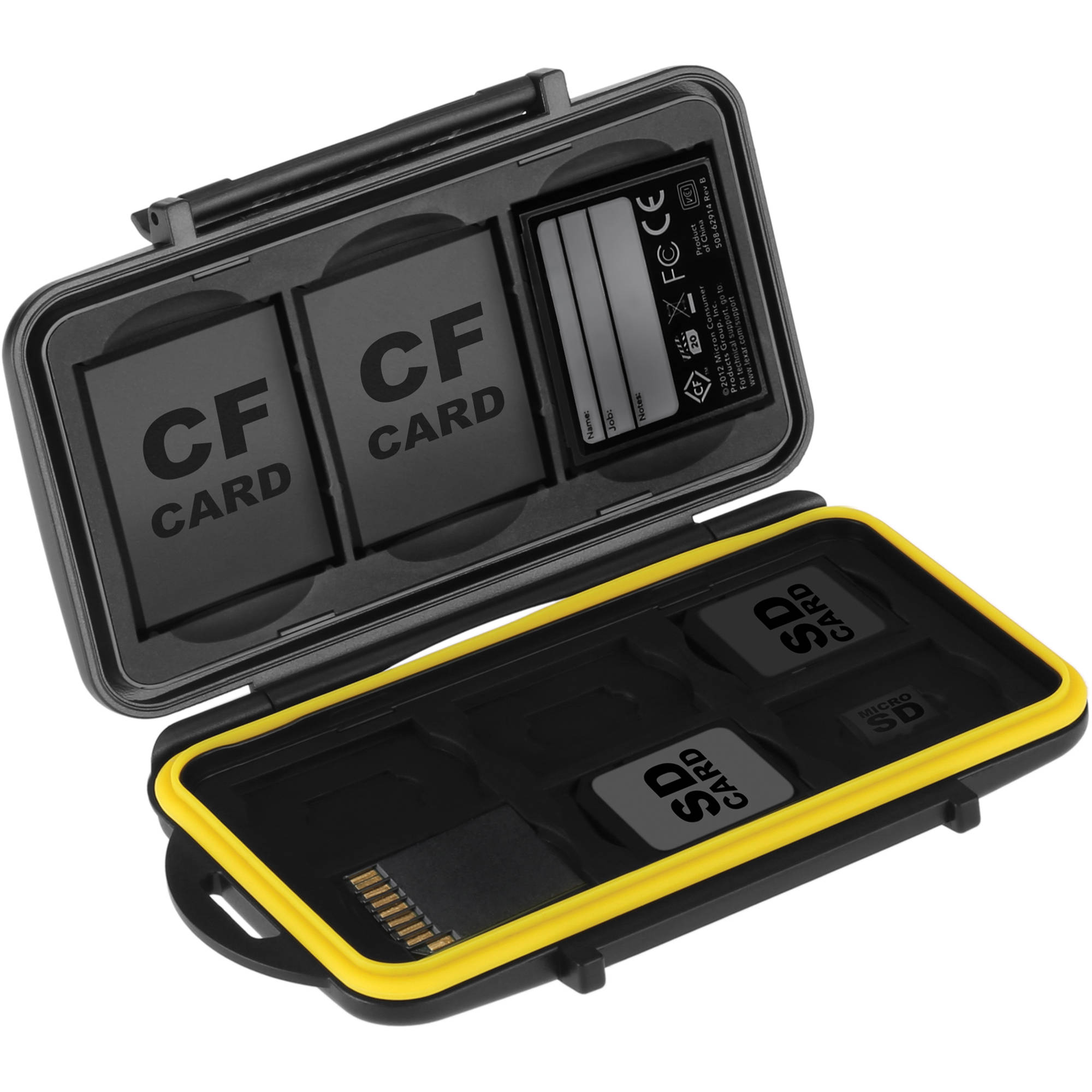 Ruggard Memory Card Case for 3 CF, 6 SD, and 6 microSD Cards
