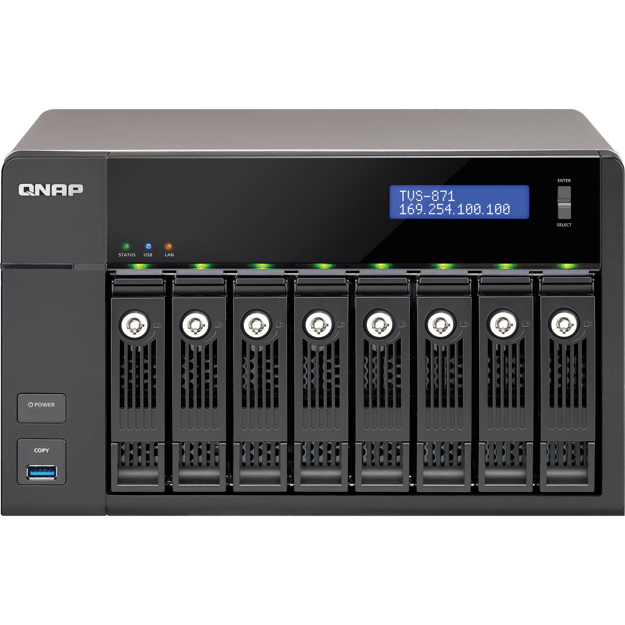 QNAP TVS-871-PT-4G 8-Bay Turbo vNAS