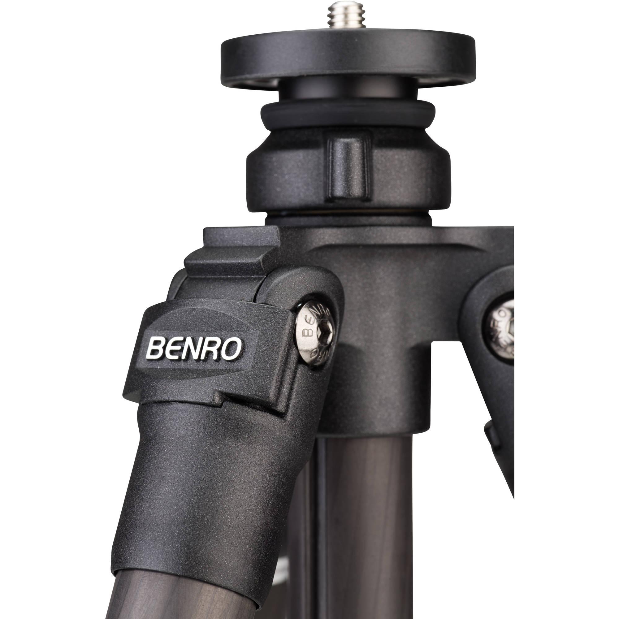 Benro Adventure 3 Series Carbon Fiber Tripod TAD37C