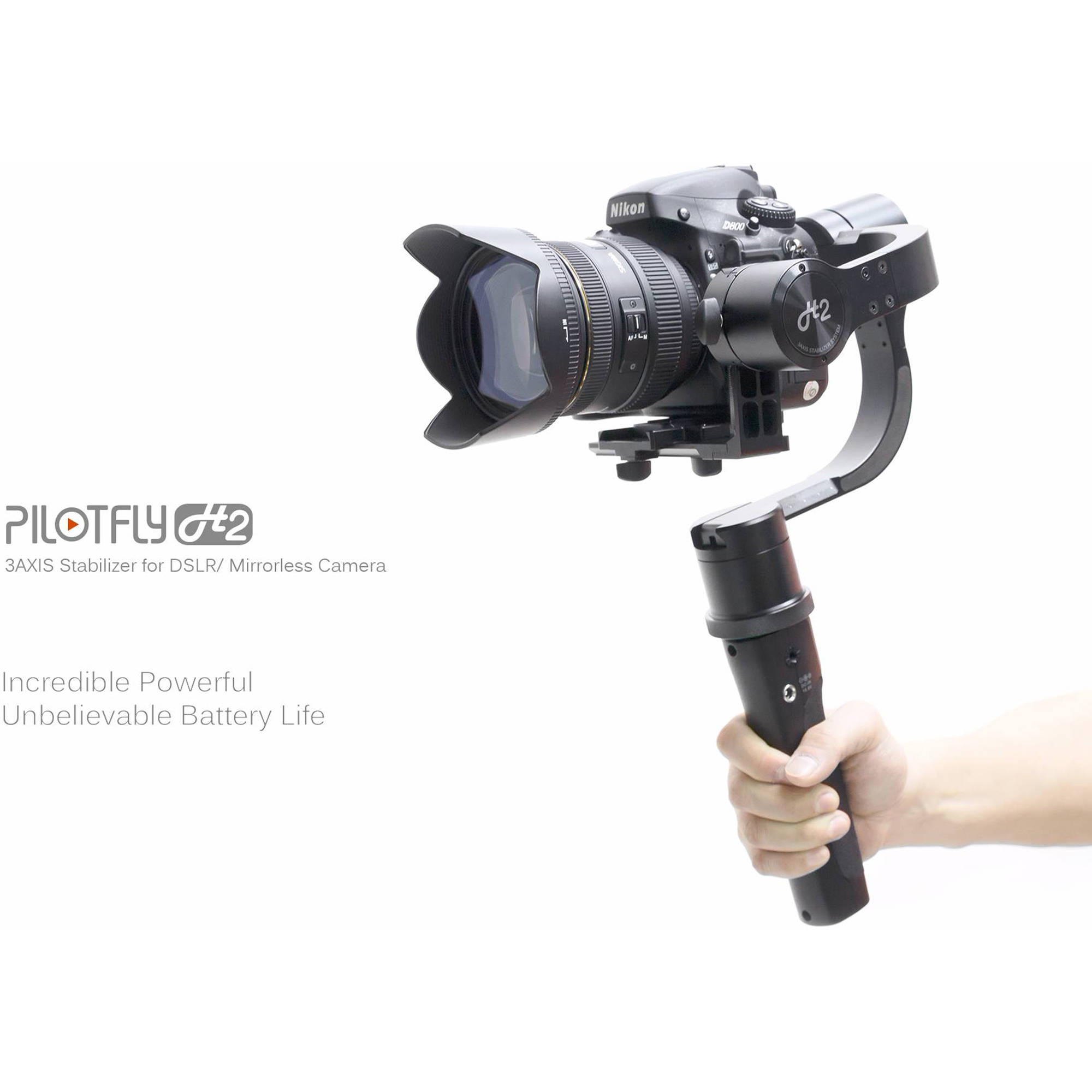 Pilotfly H2 3-Axis Handheld Gimbal Stabilizer