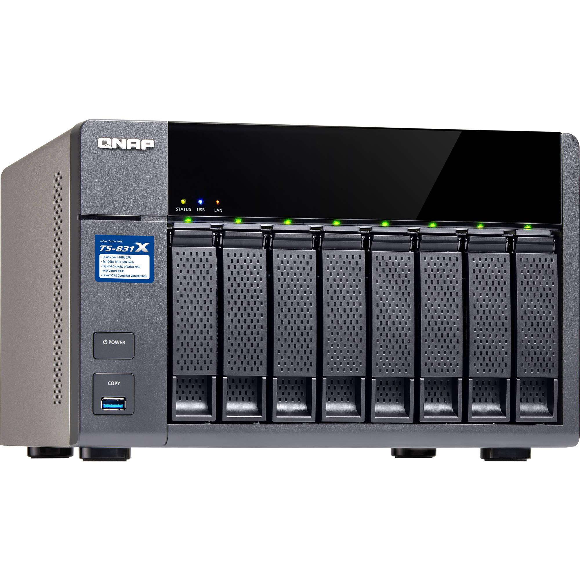 QNAP TS-831X 8-Bay NAS Enclosure