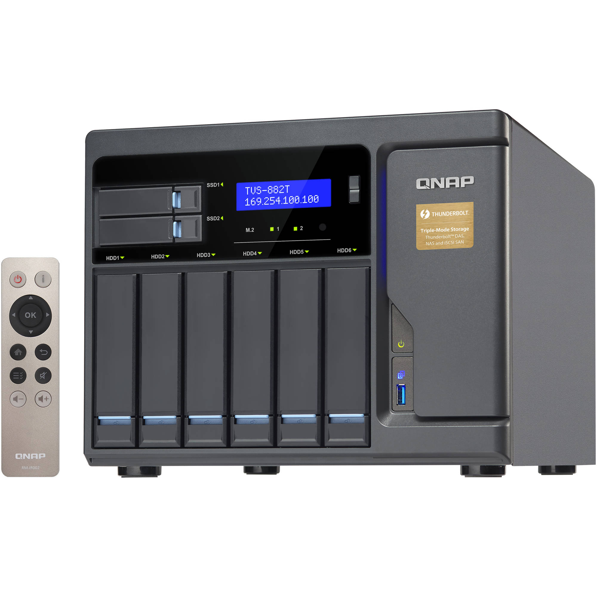 QNAP TVS-882T 8-Bay NAS Enclosure