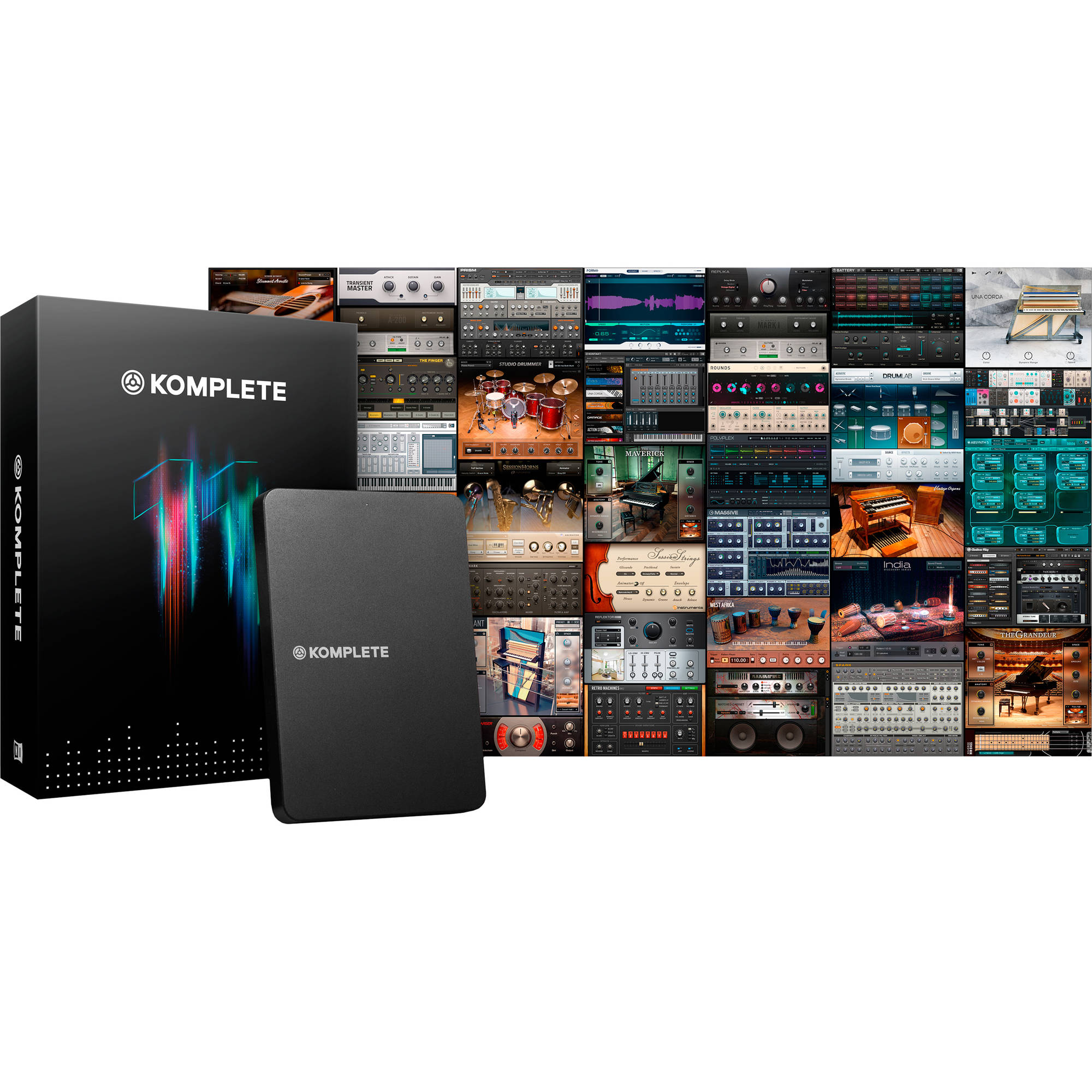 Native Instruments KOMPLETE KONTROL S49 Kit with KOMPLETE 11 Software  (Upgrade Edition)