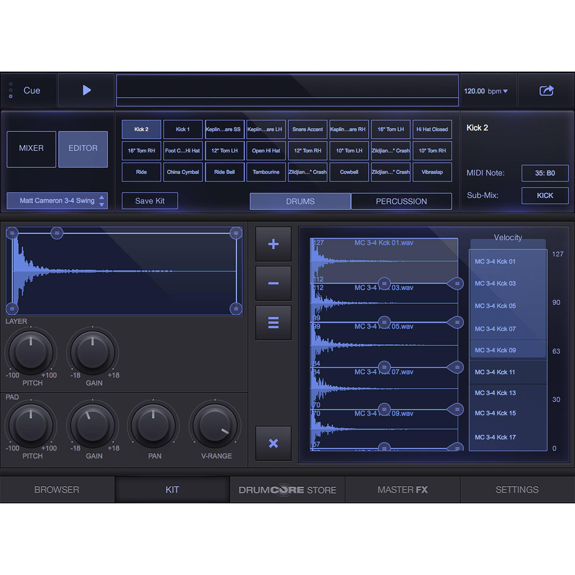 Sonoma Wire Works DrumCore 4 Lite - Virtual Instrument