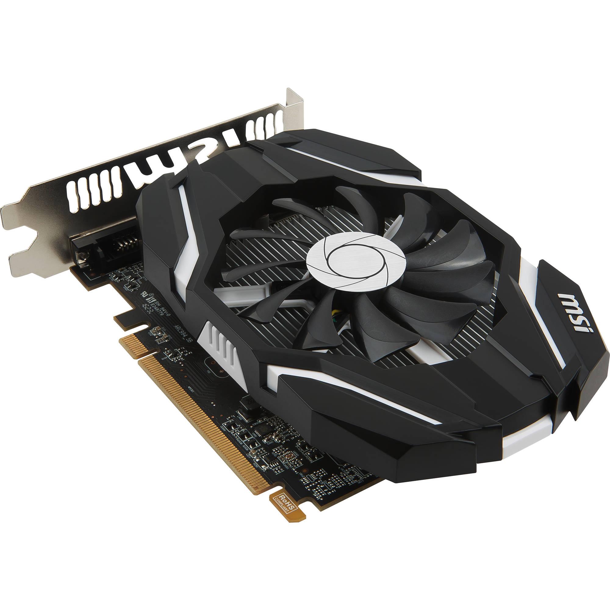 MSI Radeon RX 460 DirectX 12 RX 460 2G OC 2GB 128-Bit GDDR5 PCI Express 3.0 x16