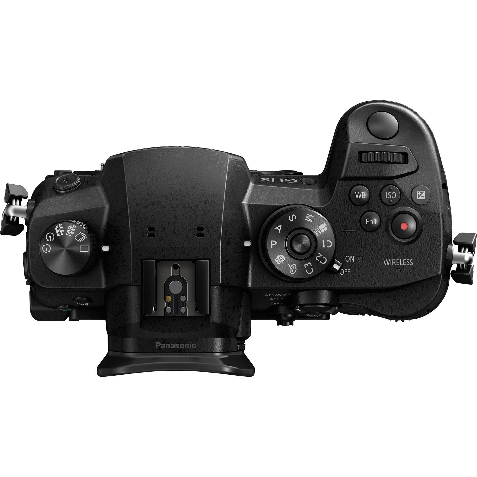 Panasonic Lumix DC-GH5 Mirrorless Micro Four Thirds Digital Camera (Body  Only)