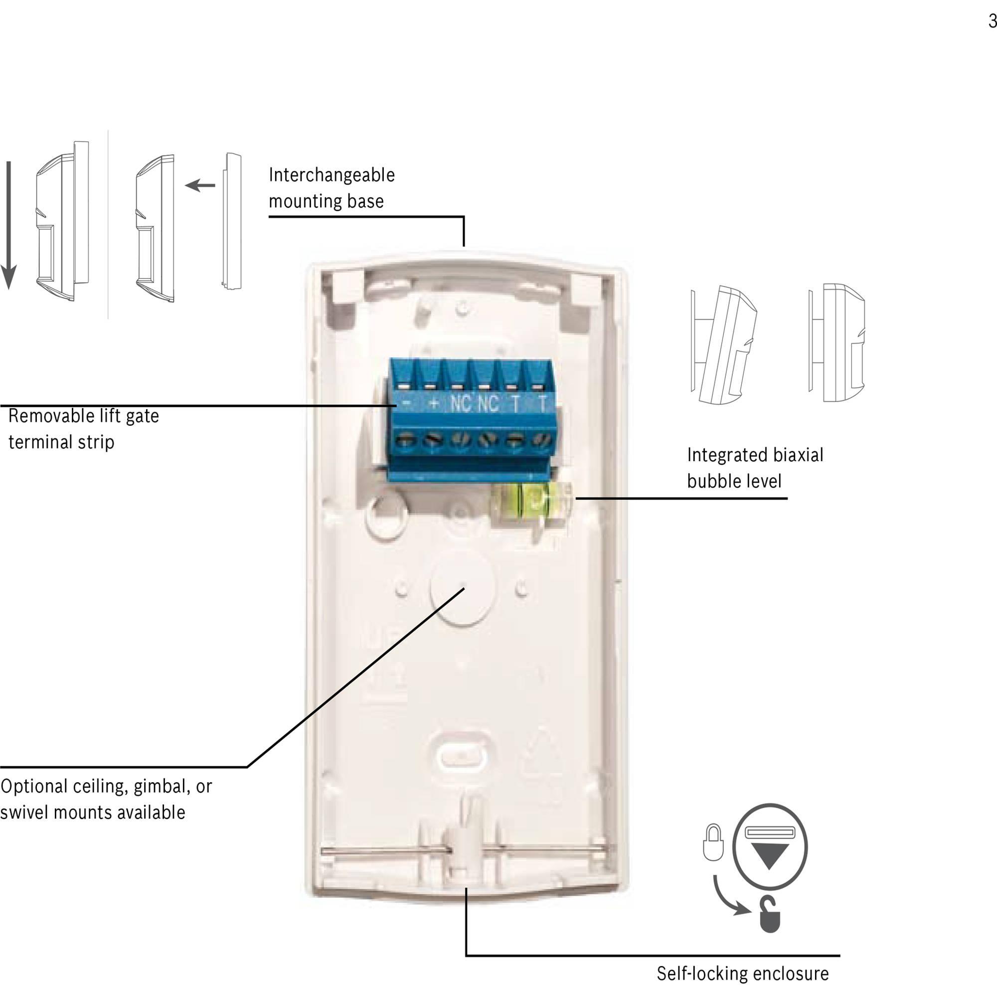 Bosch ISC-BDL2-WP6G Blue Line Gen2 Pet-Friendly ISC-BDL2-WP6GB&H