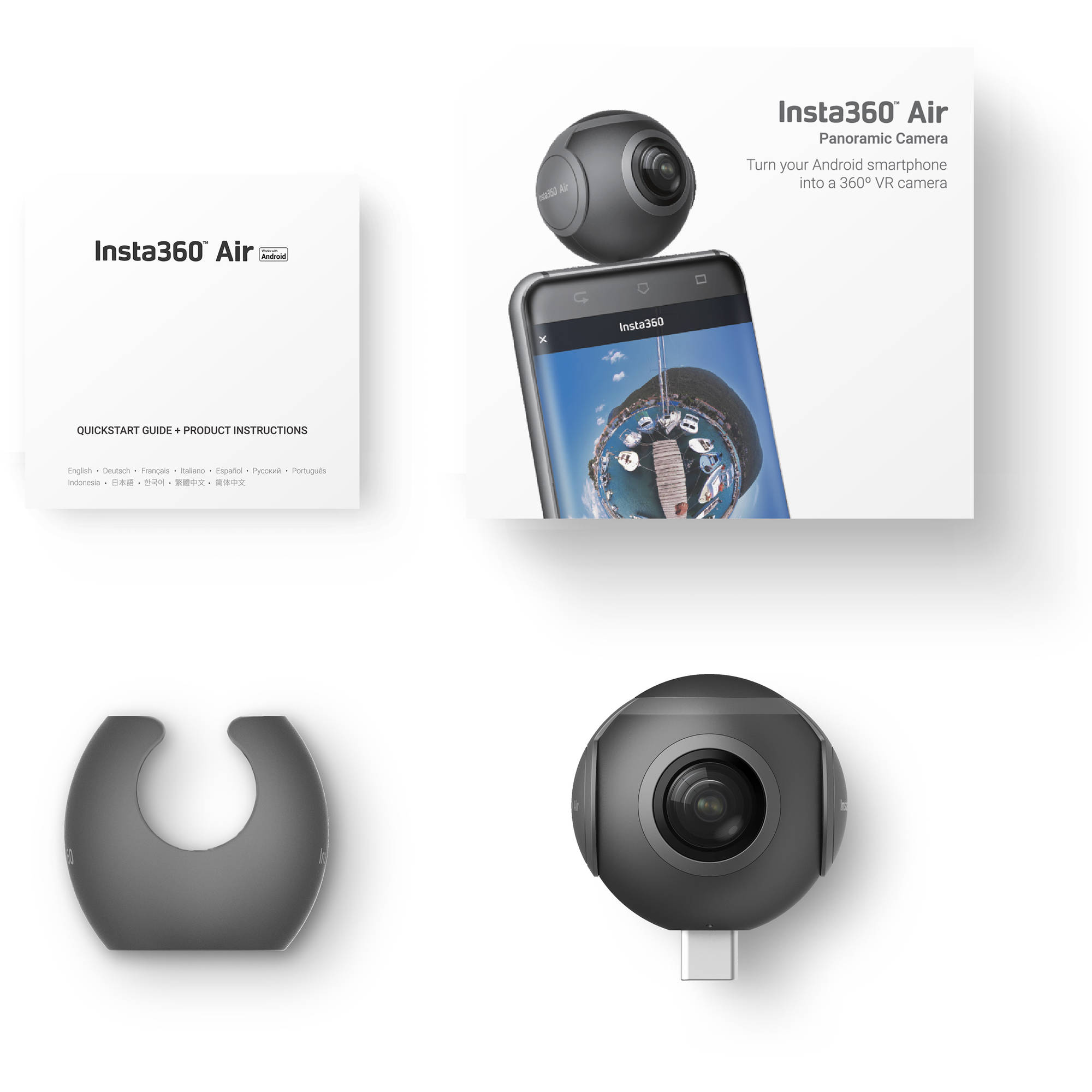 Insta360 Air Camera for Android Devices (Micro-USB)