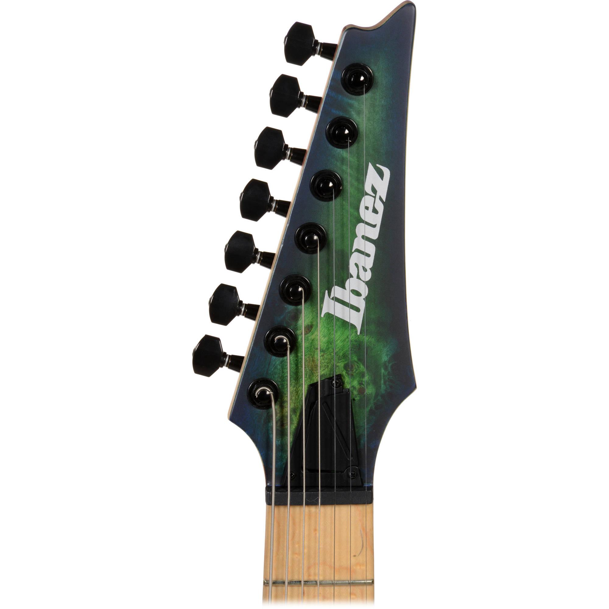 Ibanez RGDIX7MPB RGD Iron Label Series 7-String Electric Guitar (Surreal  Blue Burst)