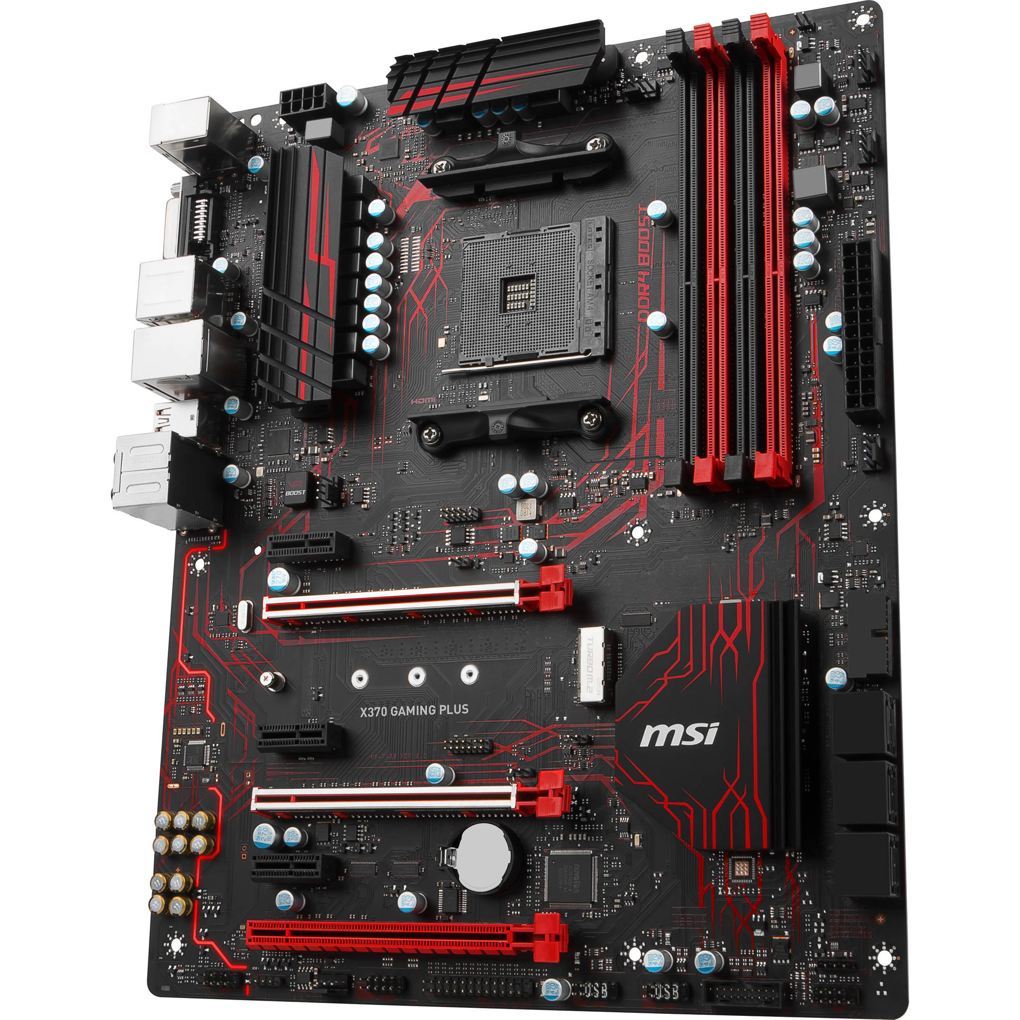 MSI X370 Gaming Plus AM4 ATX Motherboard