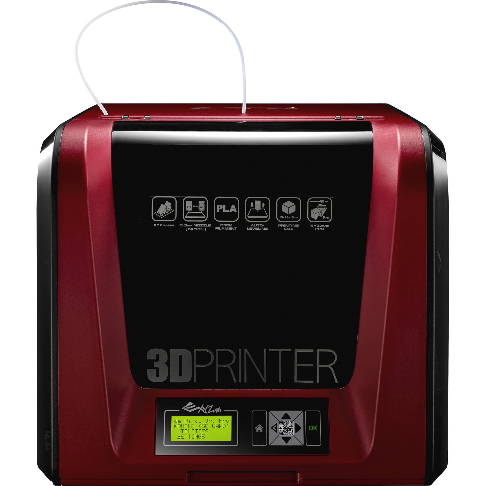 XYZprinting da Vinci Jr  1 0 Pro 3D Printer