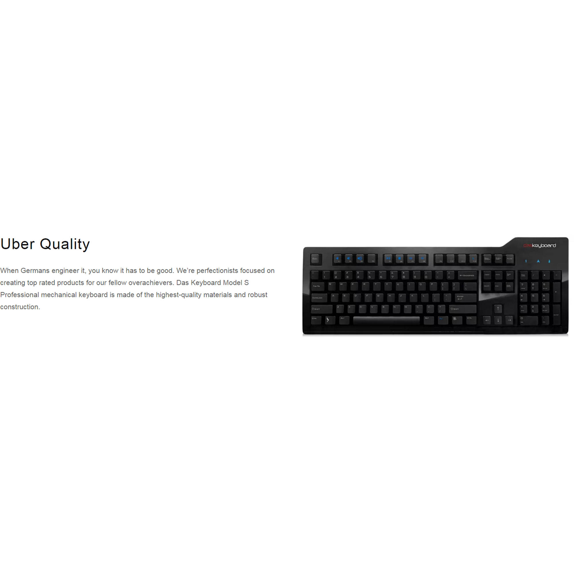 Das Keyboard Model S Professional Mechanical Keyboard (Cherry MX Brown  Switches)