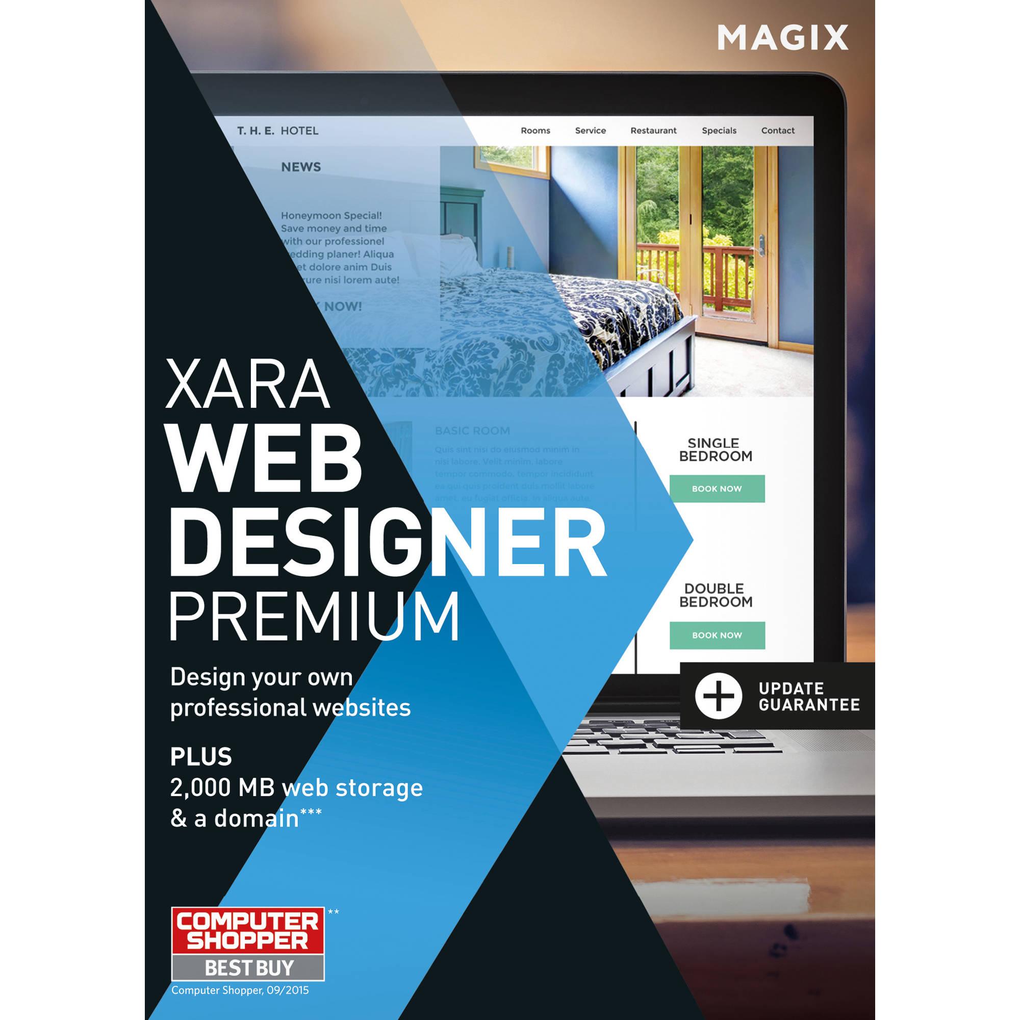 Magix Xara Web Designer Premium 17913edul2 B H Photo Video