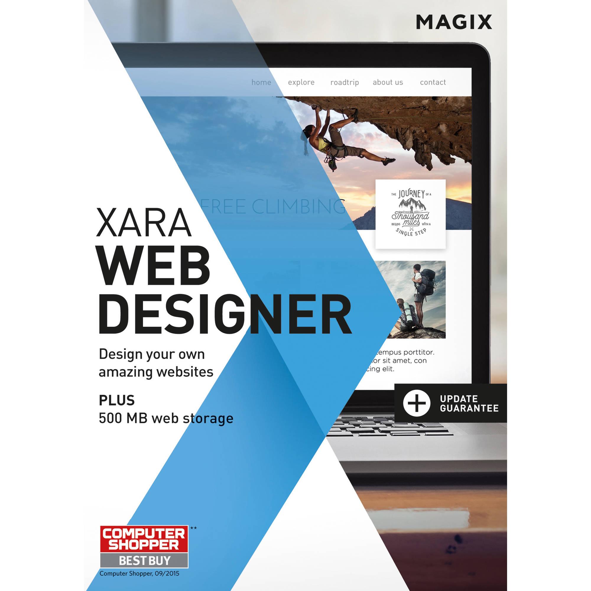 Magix Xara Web Designer Boxed Anr006410box T B H Photo Video