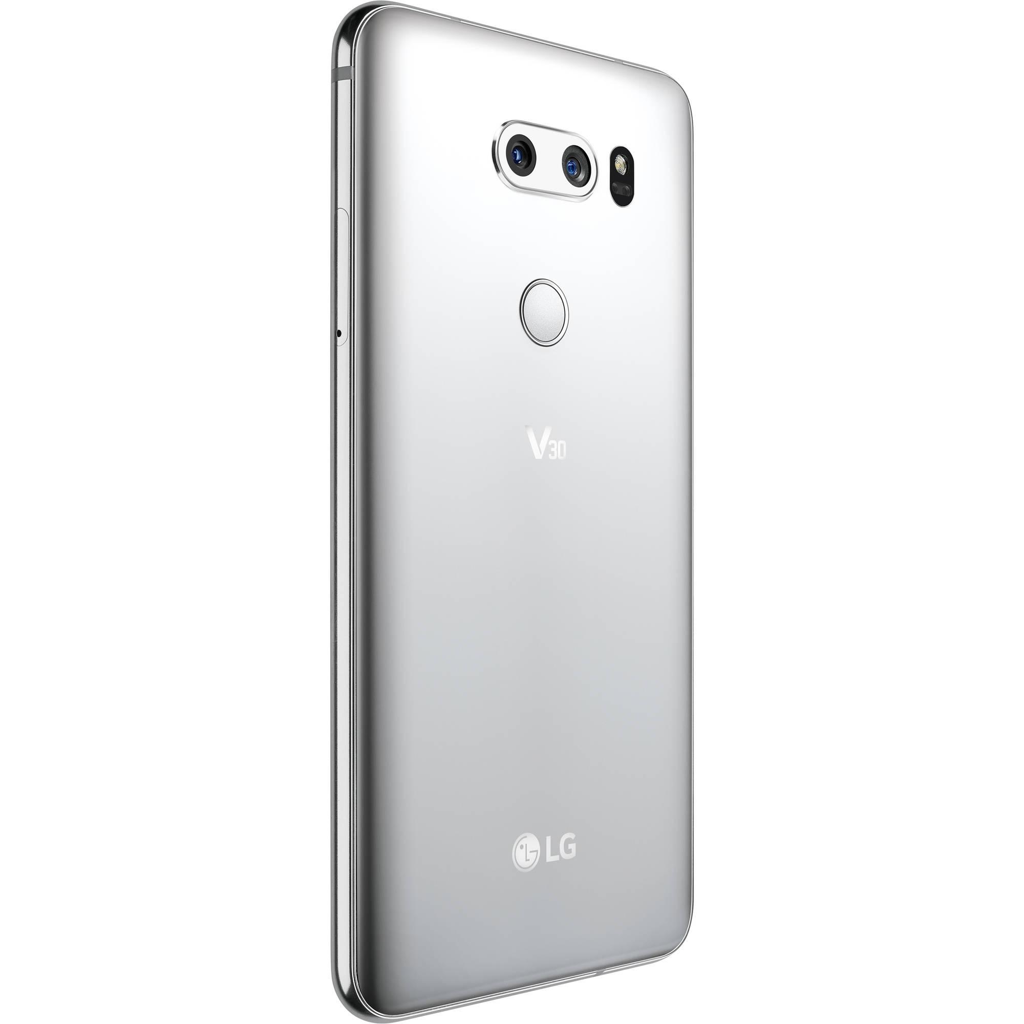 LG V30 US998 64GB Smartphone (Cloud Silver)