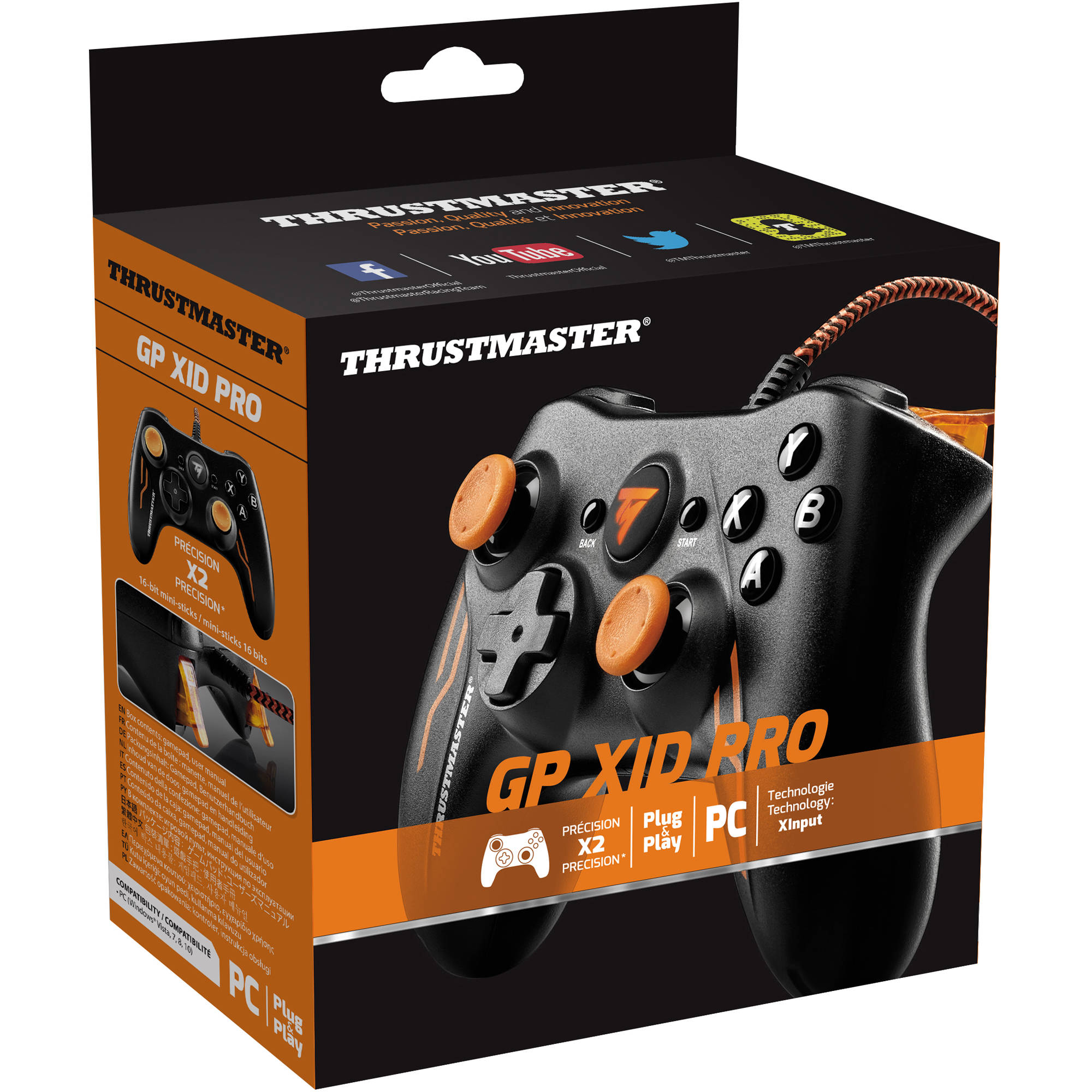 Thrustmaster GP XID Pro Wired Gamepad for PC