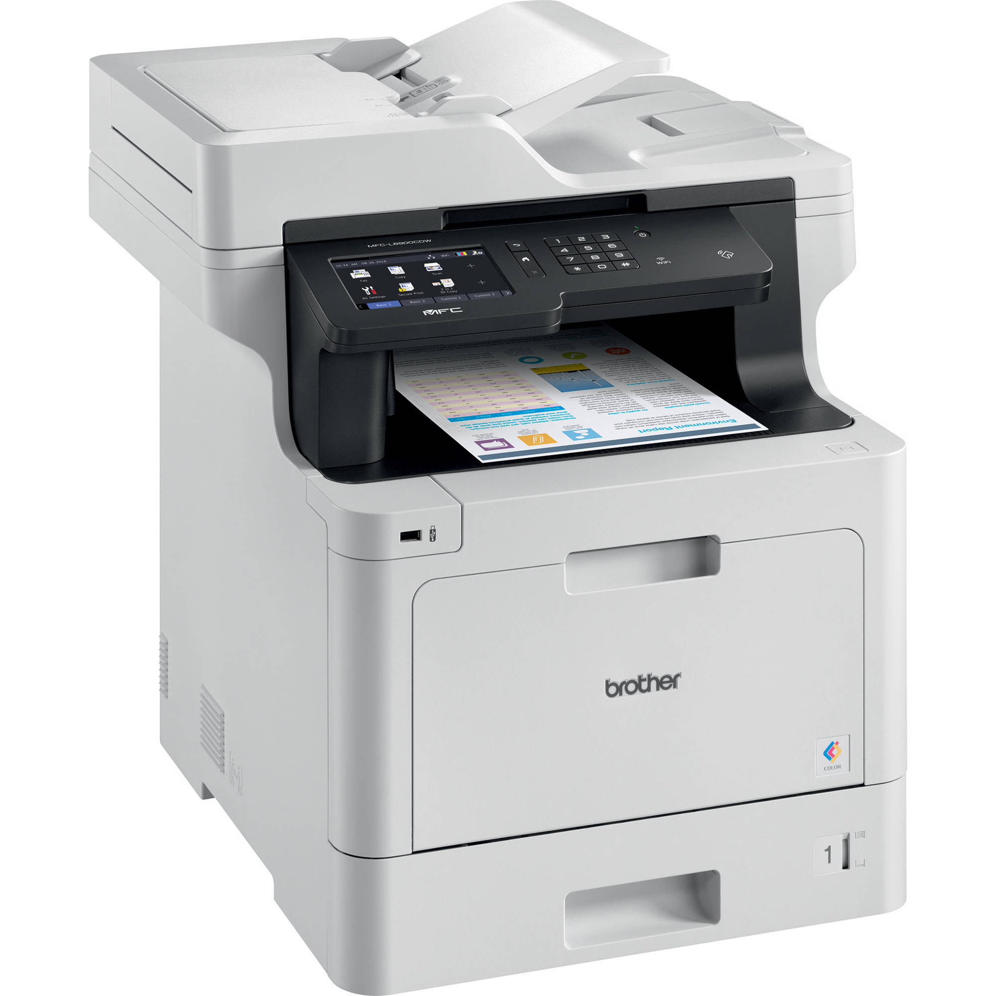 Brother MFC-L8900CDW All-in-One Color Laser Printer