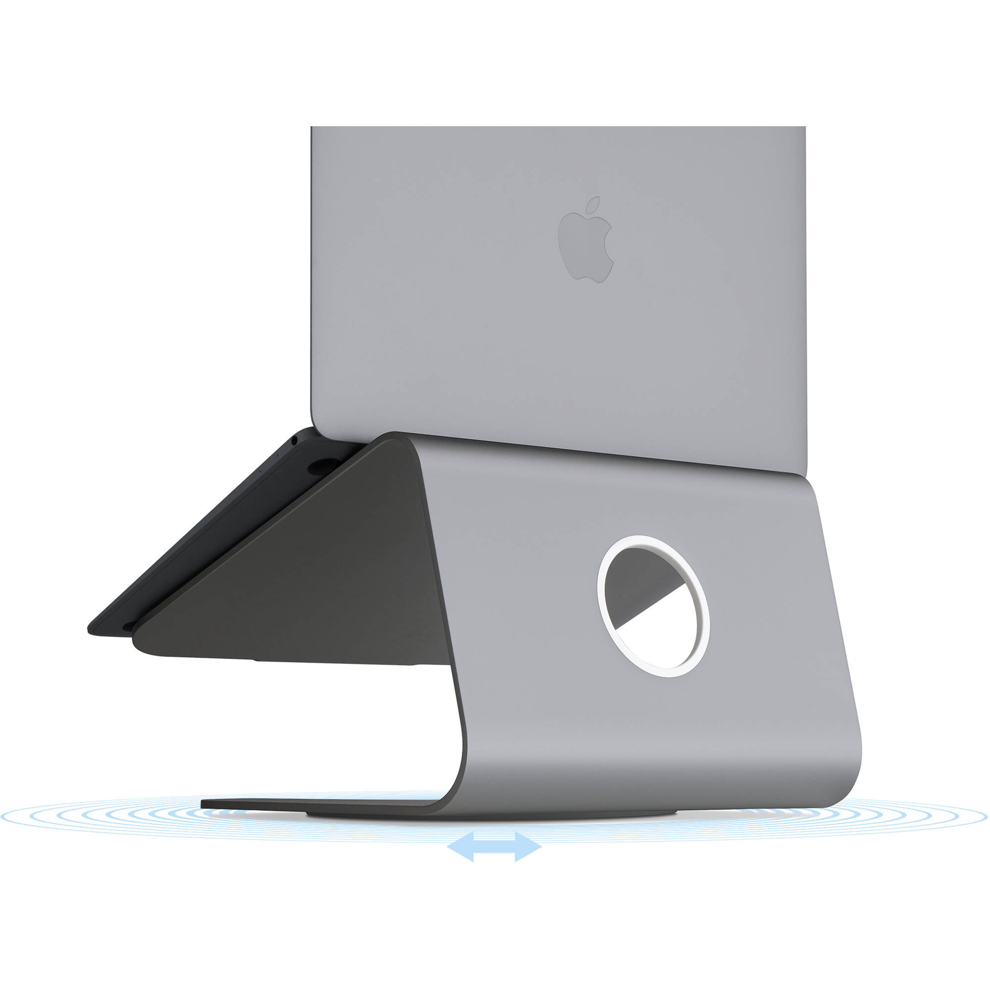 mStand360 Laptop Stand with Swivel Base 10073 Gold Audio & Video ...
