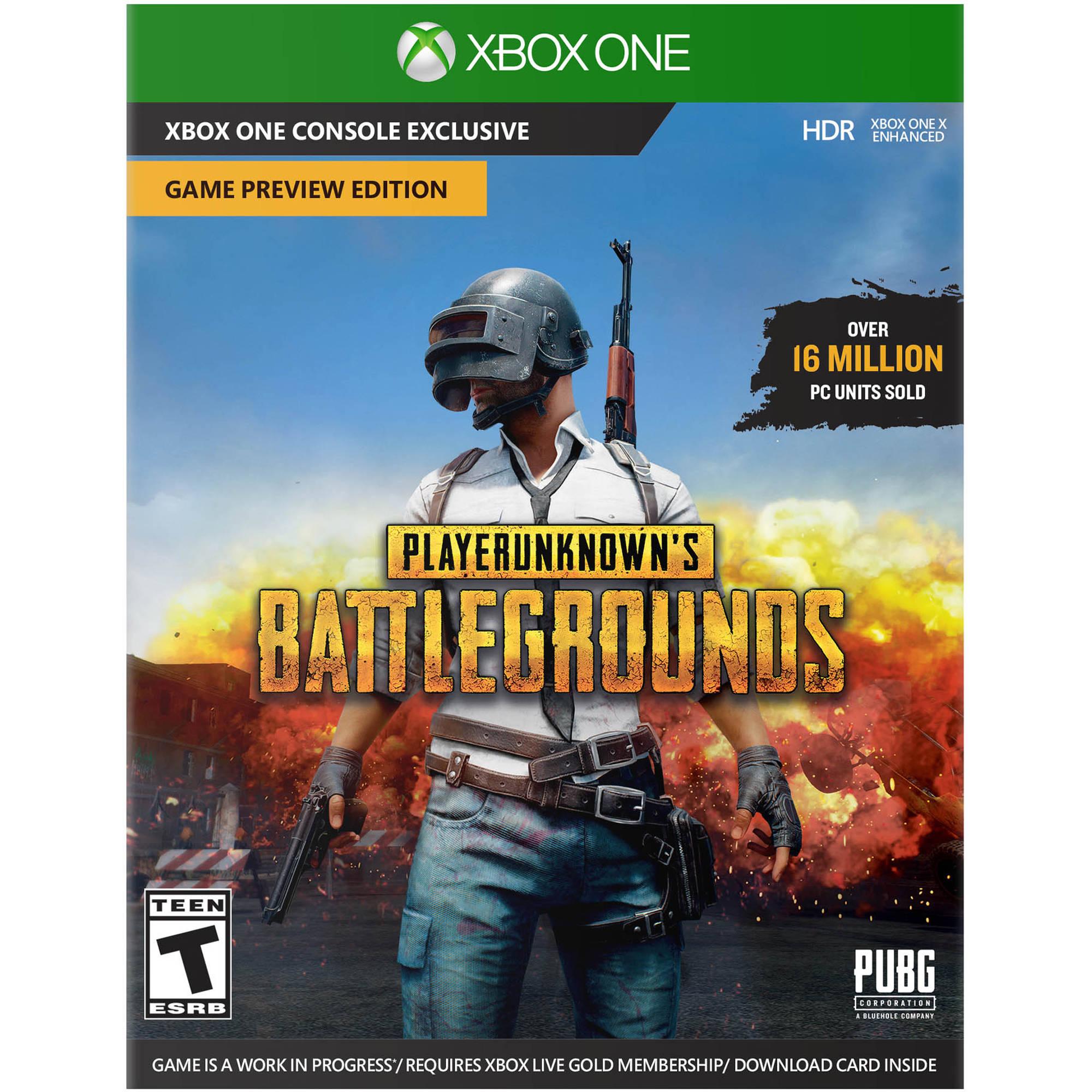 Microsoft Xbox One S PLAYERUNKNOWN'S BATTLEGROUNDS Bundle