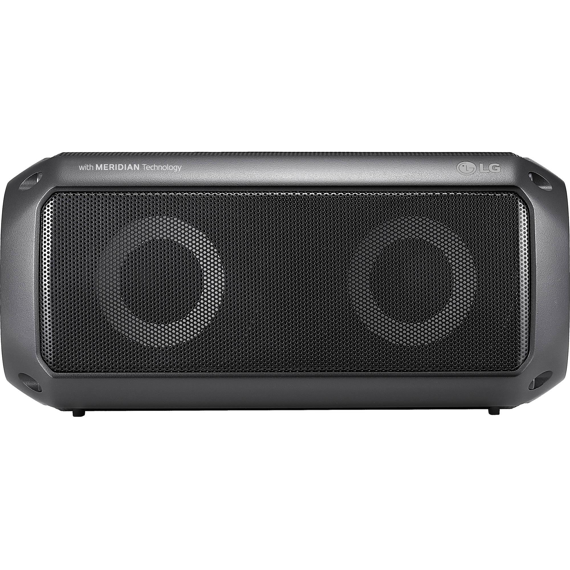 Wireless LG PK3 IPX-7 Waterproof Portable Bluetooth Speaker