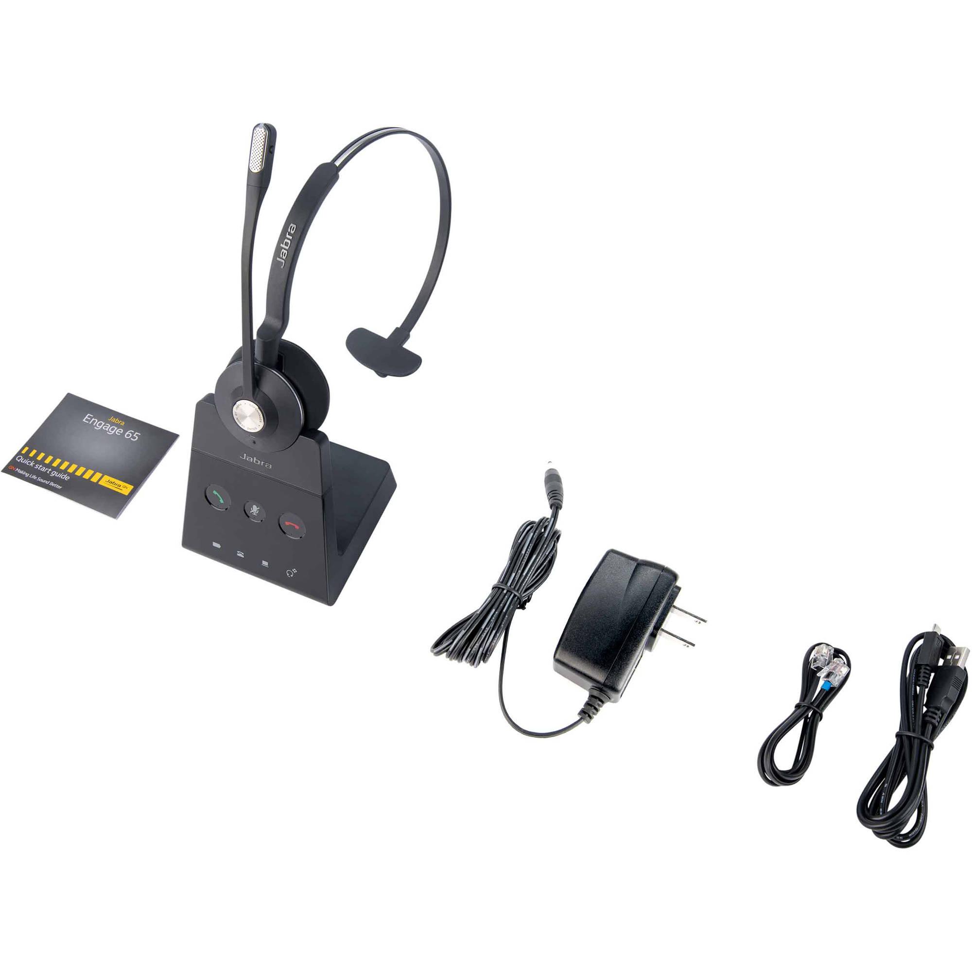 Jabra Engage 65 Mono Wireless Dect On Ear Headset 9553 553 125