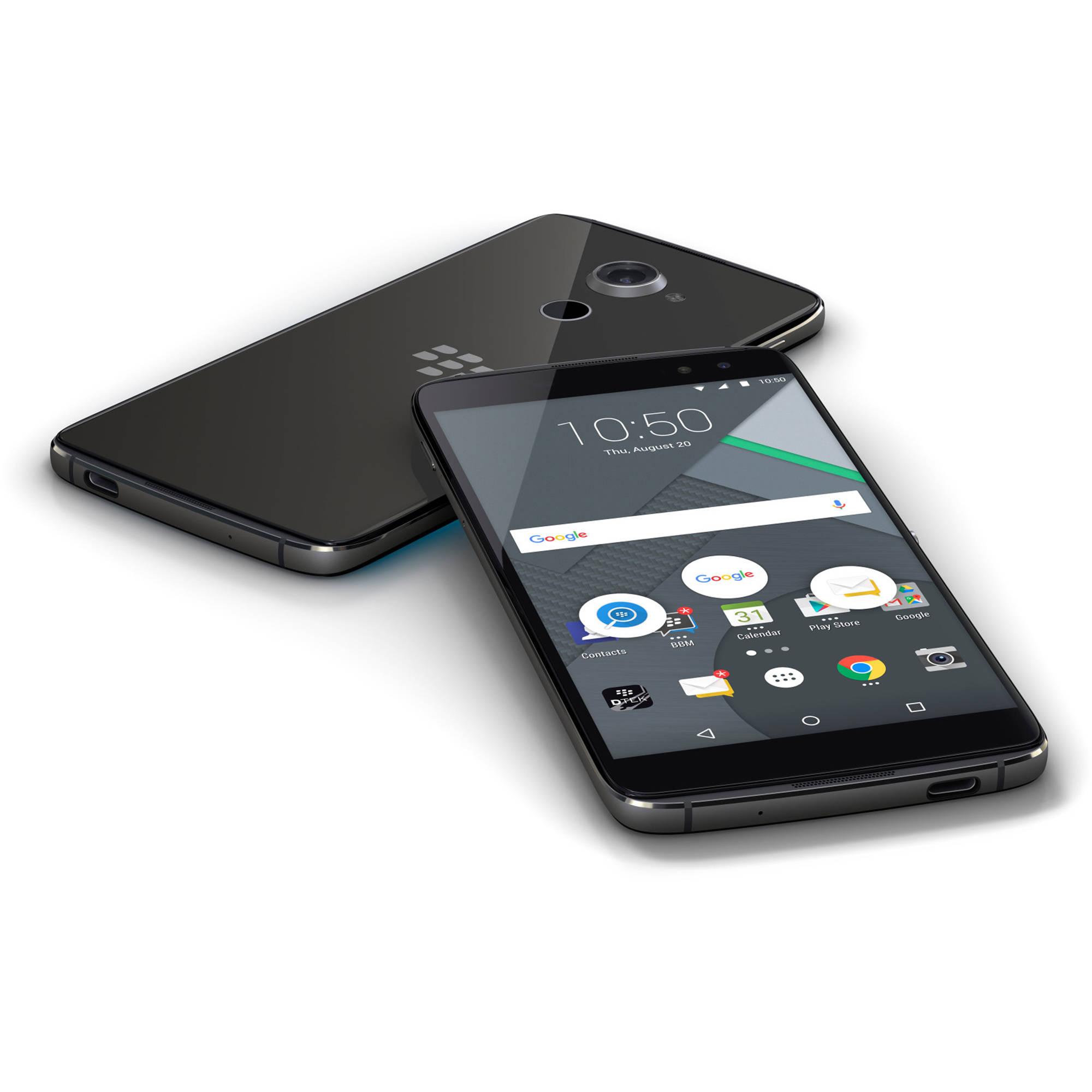 BlackBerry DTEK60 BBA100-2 32GB Smartphone (Unlocked, Black)