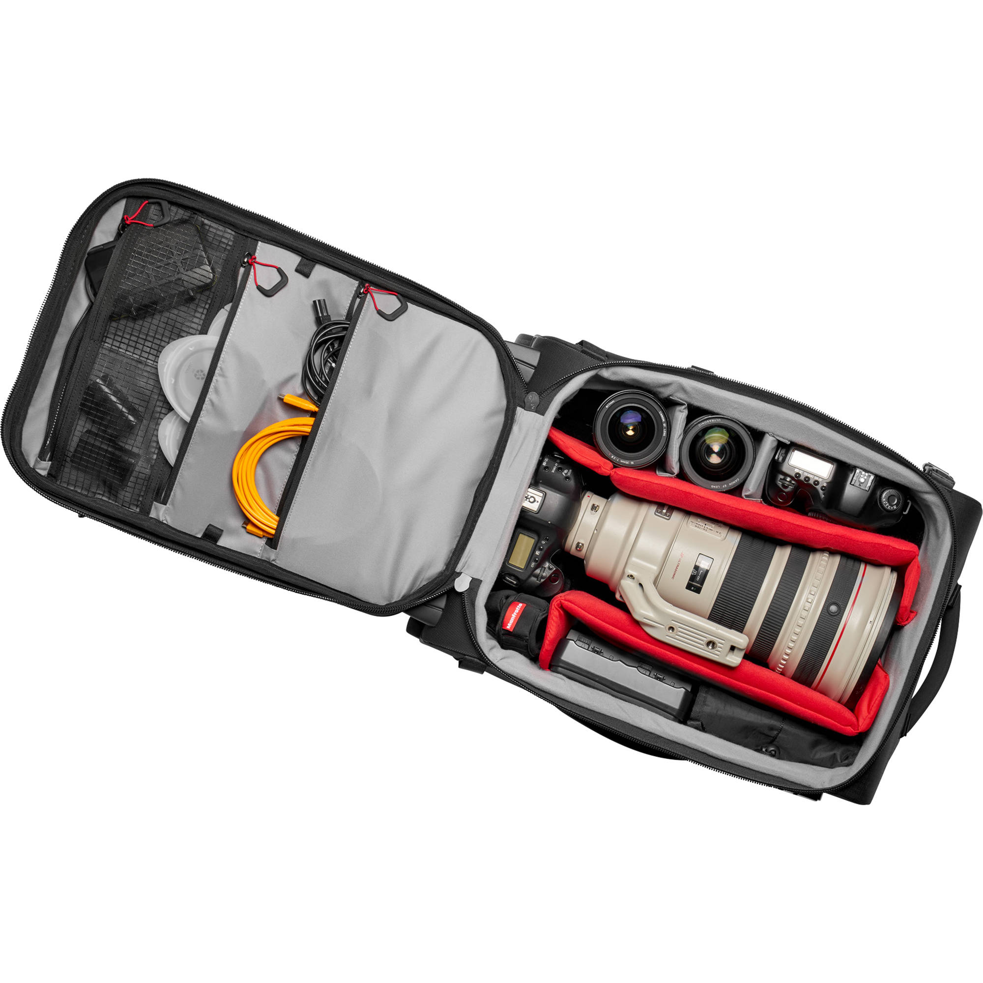 Manfrotto Pro Light Reloader Switch-55 Backpack/Roller (Black)